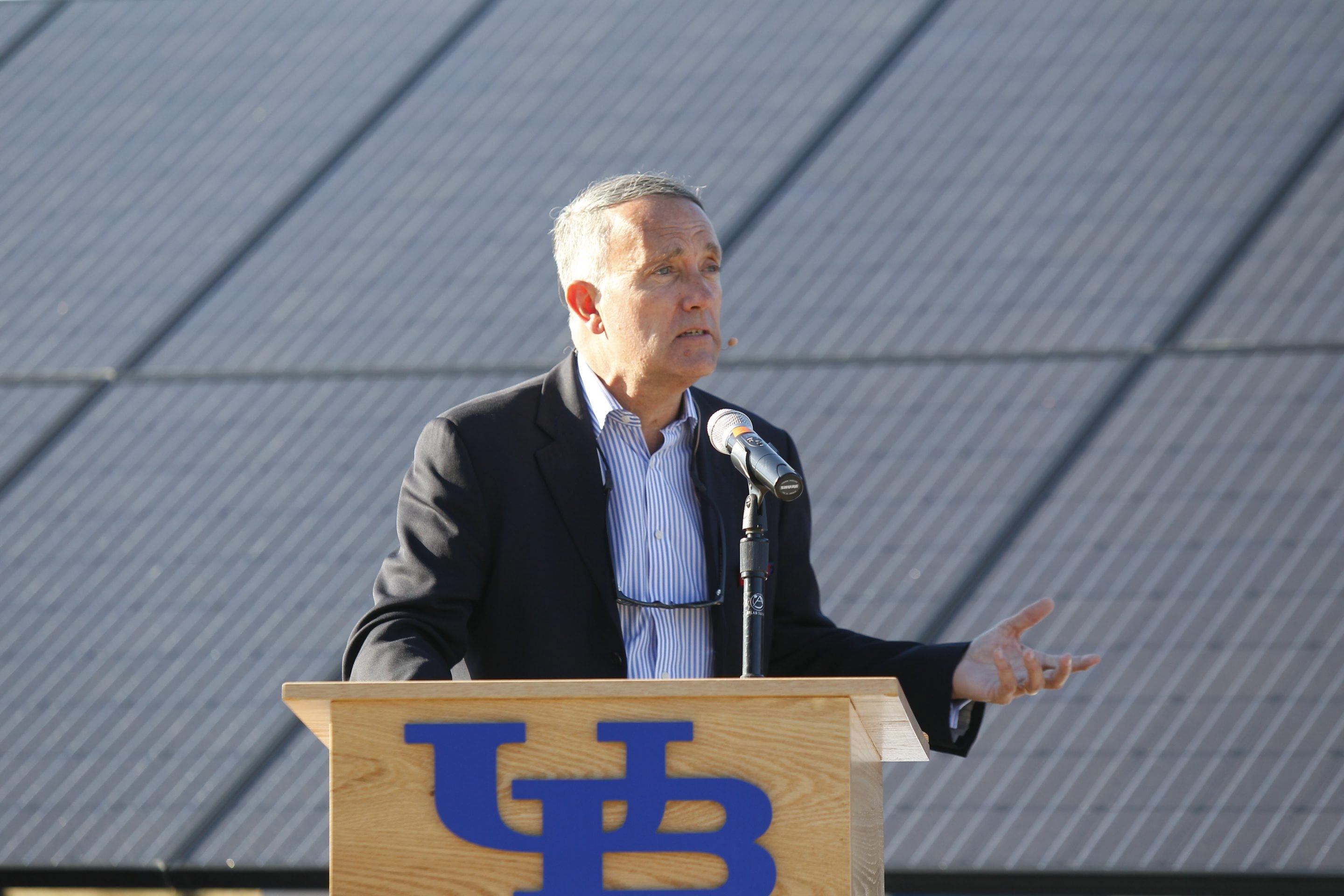 Dennis Black served as UB vice president for university life and services.