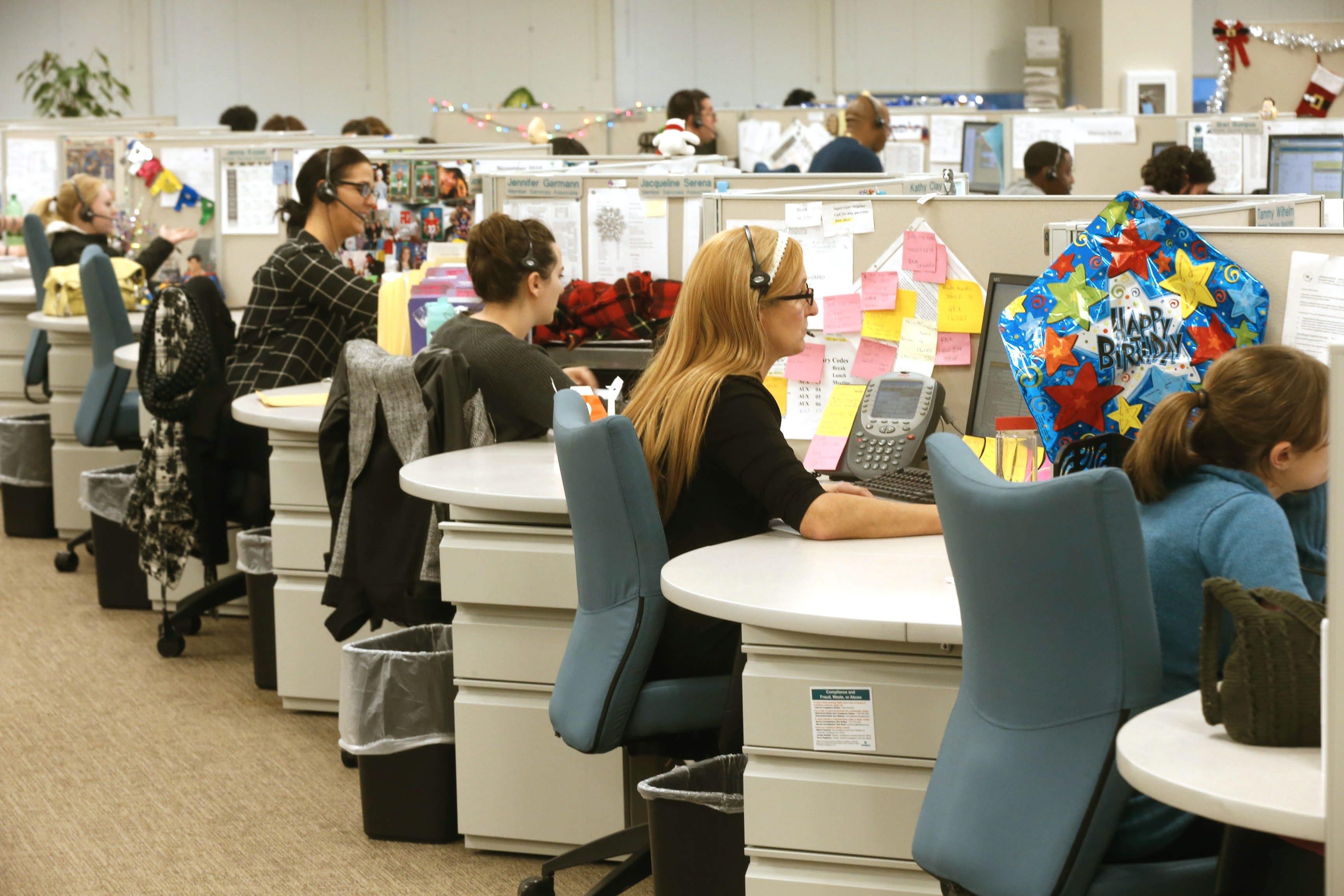 Fidelis Care New York operates a large call center in Amherst.  (Robert Kirkham/Buffalo News)