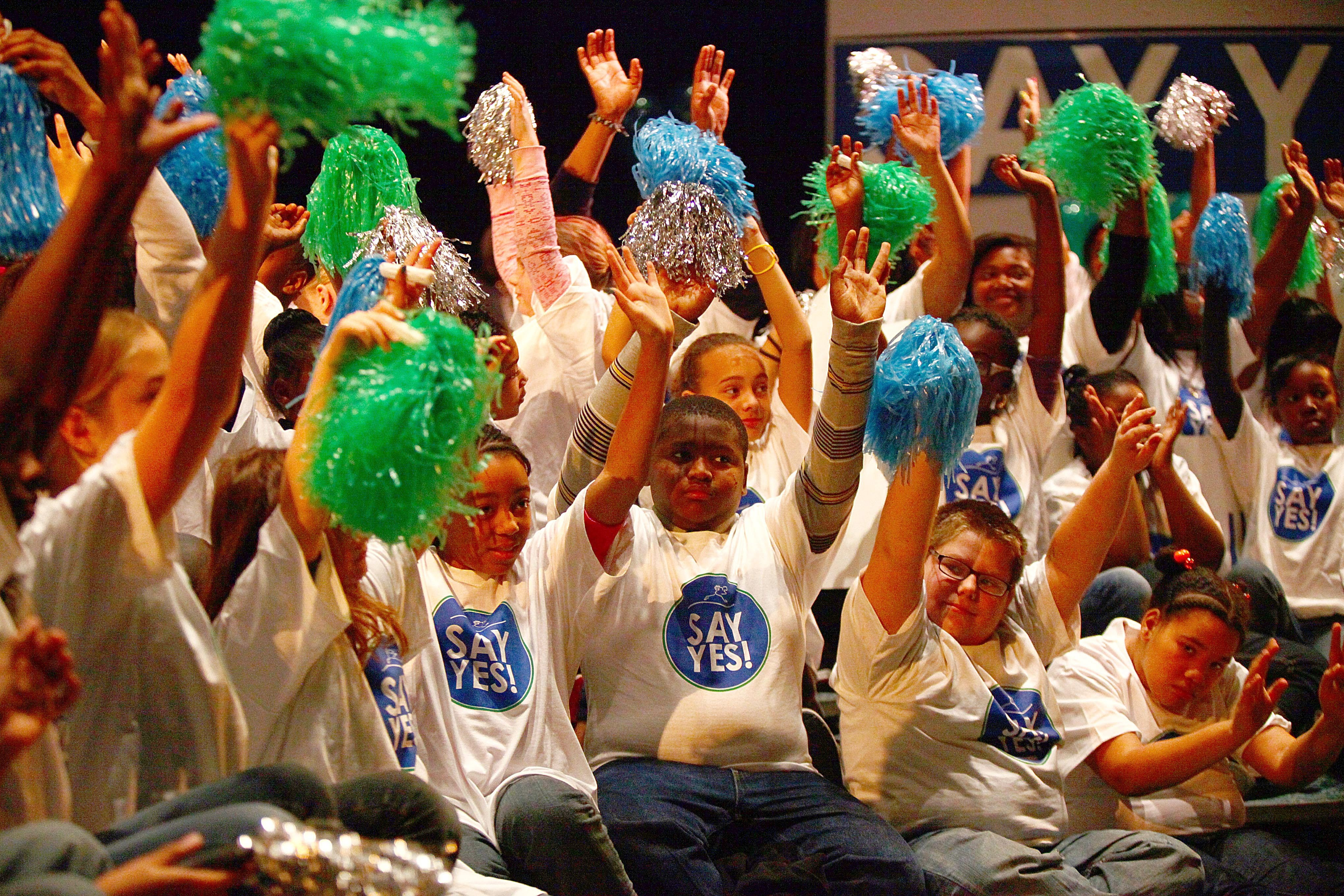 Say Yes came to Buffalo in December 2011 to much fanfare. (Robert Kirkham/Buffalo News file photo)
