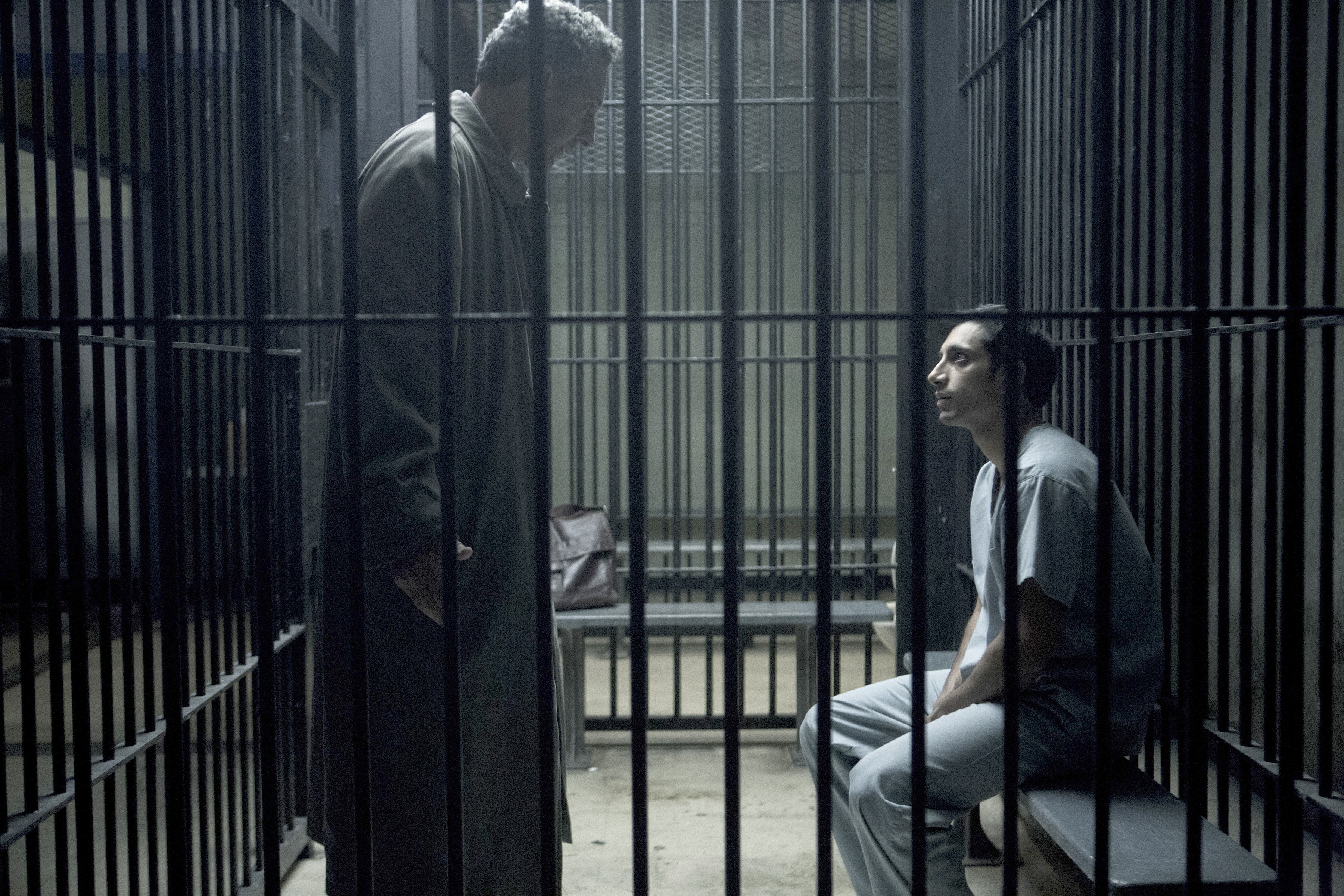 "John Turturro, left, and Riz Ahmed star in HBO's limited series ""The Night Of,"" from writer/director Steve Zaillian and writer Richard Price. (HBO)"