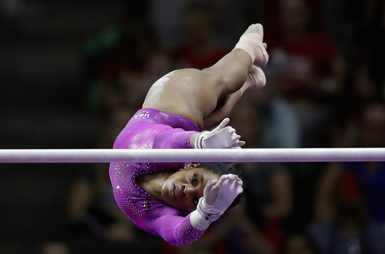 Gabrielle Douglas will be one of the competitors in the U.S. Olympic Gymnastics Trials on NBC at 8:30 Sunday night.