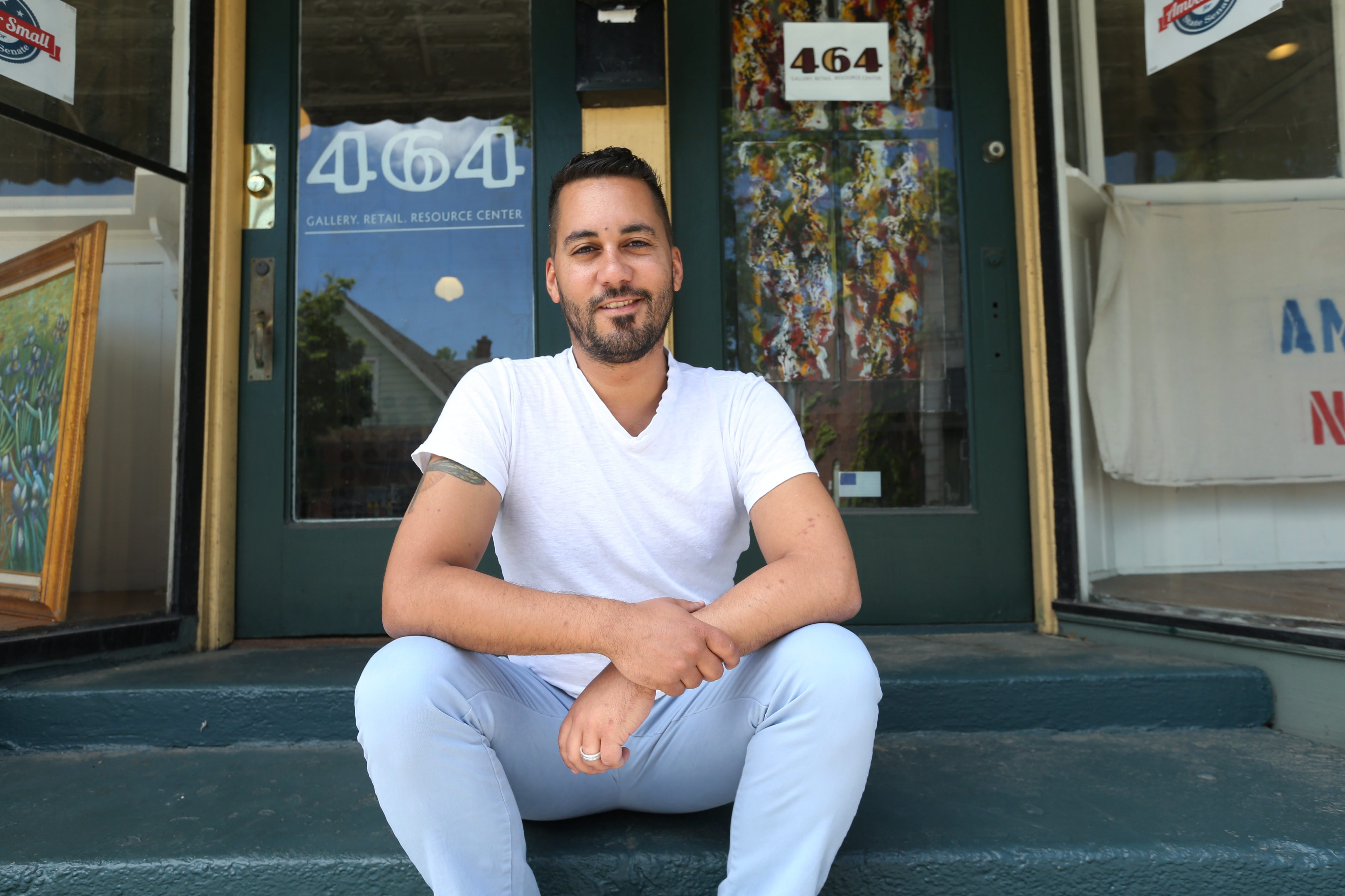 Marcus L. Wise, owner of 464 Gallery, helped anchor Black Rock's revitalization and launch a new generation of Buffalo artists. Wise is moving to Milwaukee.