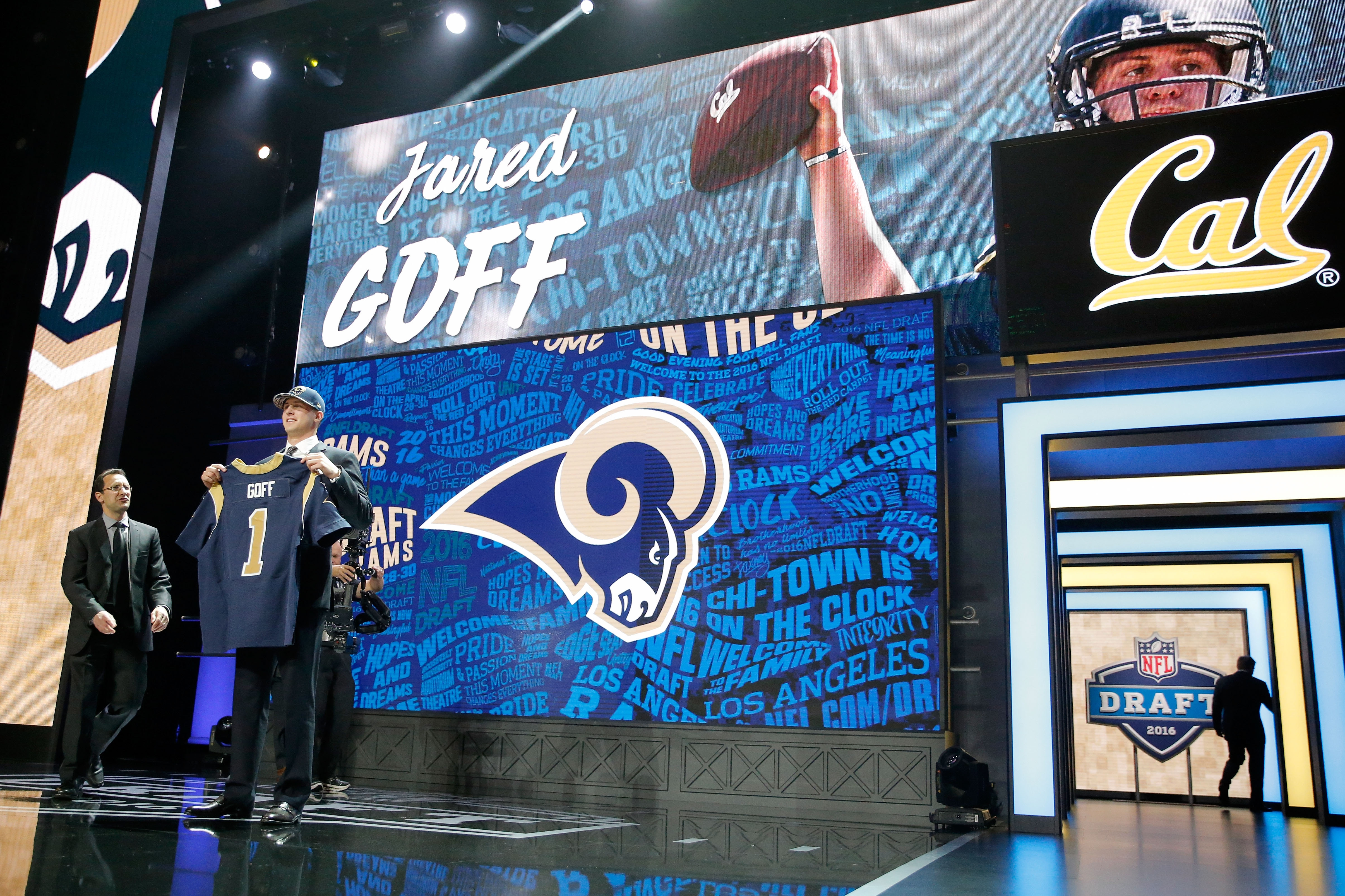 The Los Angeles Rams paid a steep price in draft picks in order to draft quarterback Jared Goff, and he could be the starter by the time they face the Bills in Week Five.