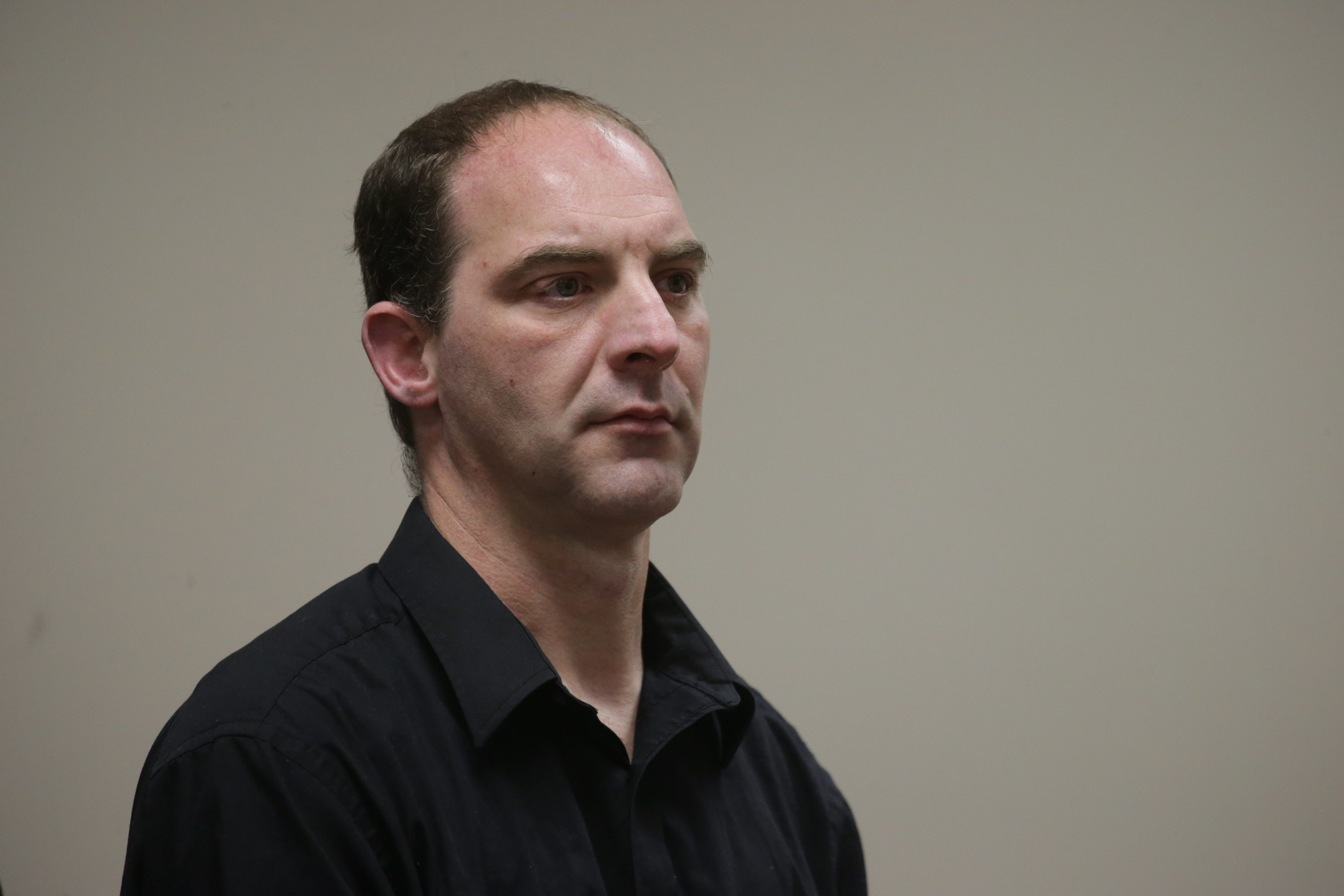 Robert E. MacLeod, shown here at his May 19 arraignment, declined a plea deal Tuesday in the robbery and sexual assault of a Japanese tourist in December. (John Hickey/Buffalo News)