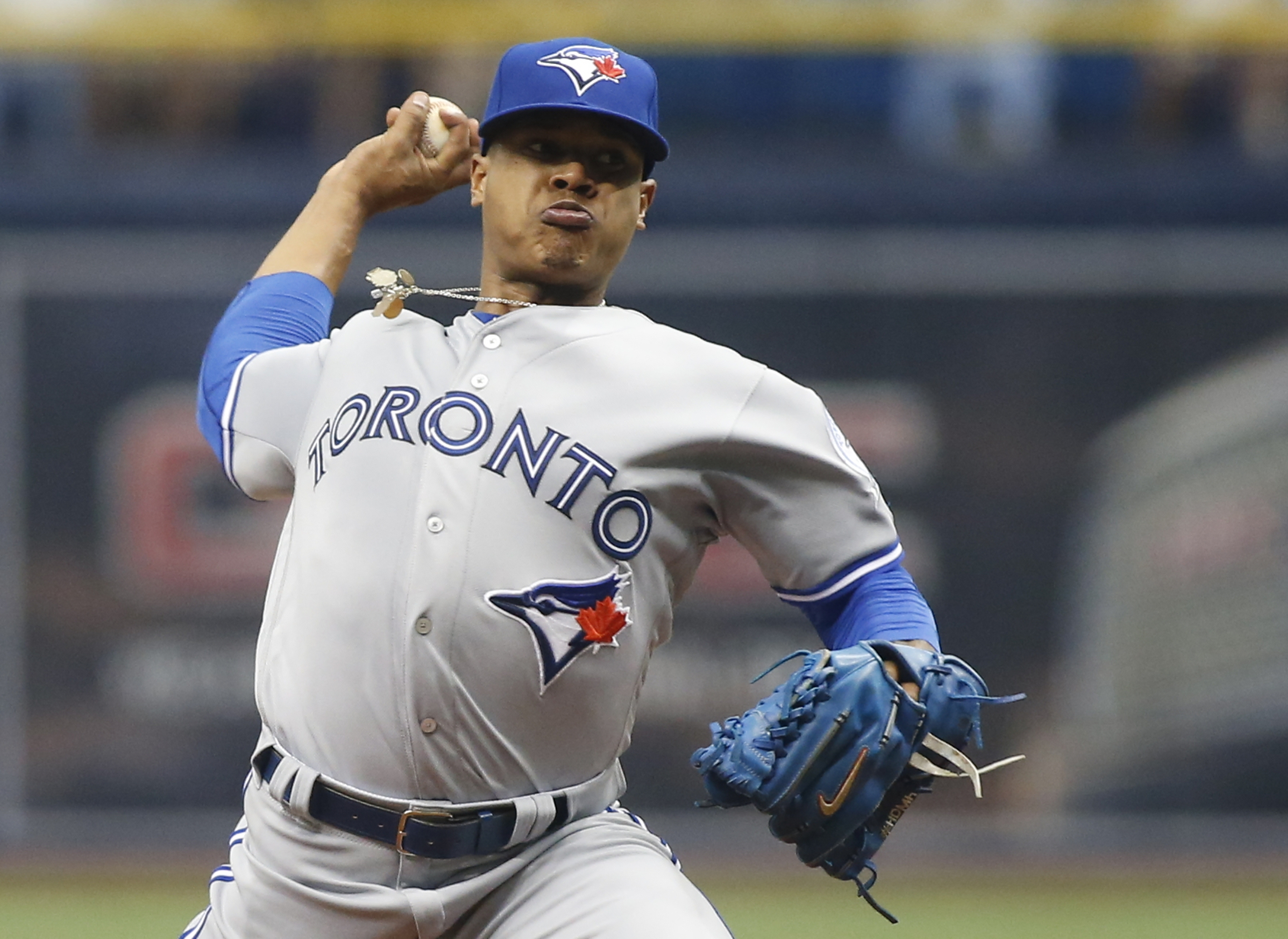 Marcus Stroman's 4-0 September of 2015 that helped the Blue Jays reach the postseason seems like a distant memory now.