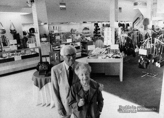 Anne and Louis Bunis inside Sample's flagship Hertel Avenue location. Buffalo News archives