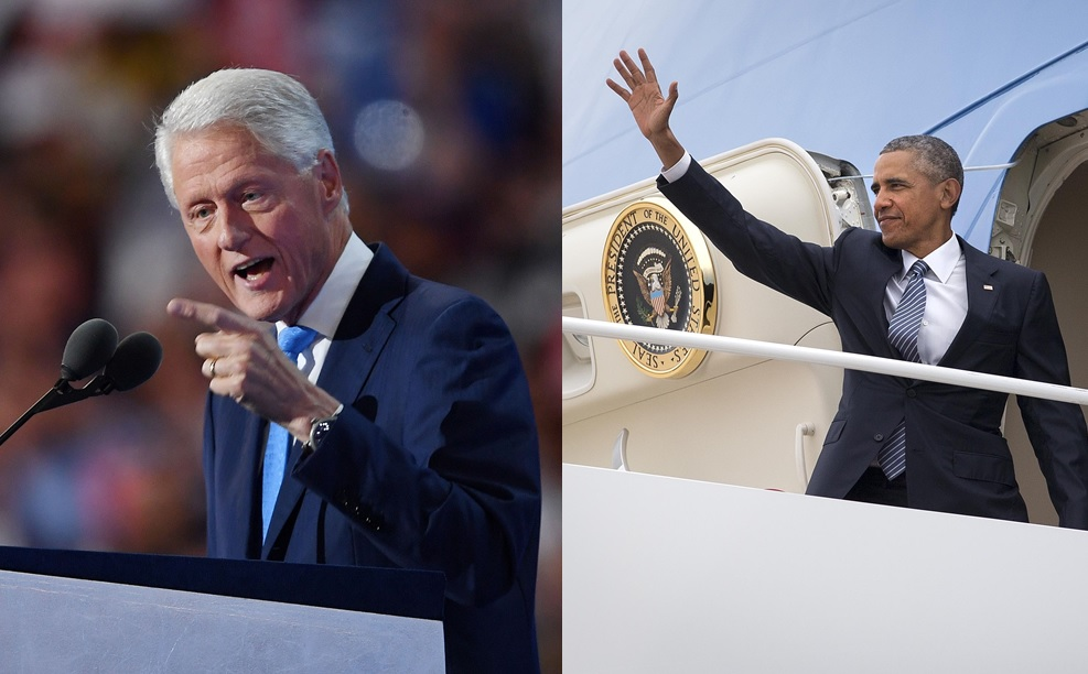 Bill Clinton delivered a heart-felt and personal address Tuesday for his wife, Hillary. President Barack Obama will take the podium at Day Three of the Democratic National Convention in Philadelphia tonight. (Abaca Press/New York Times)
