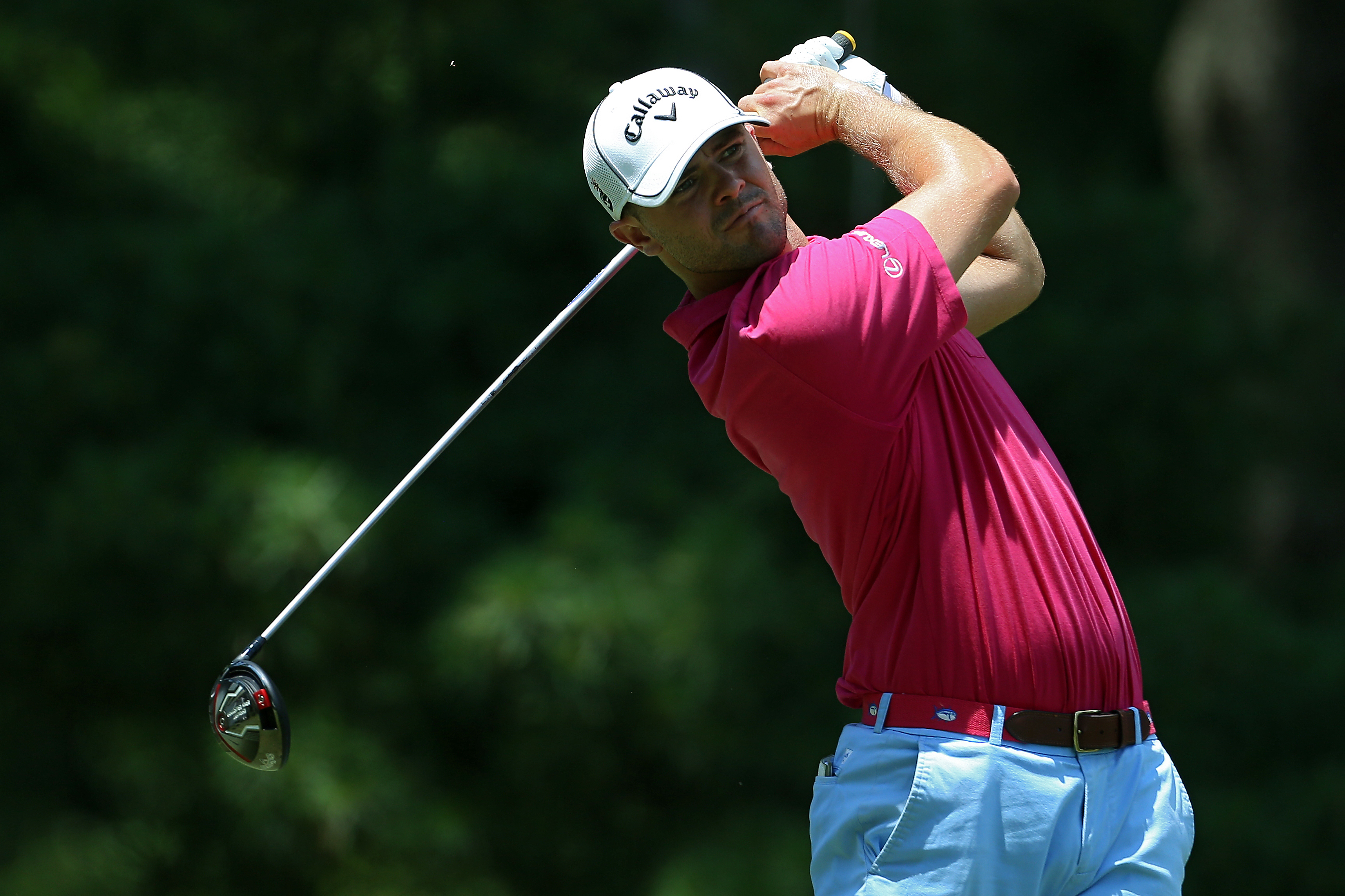 Wesley Bryan leads the Web.com Tour money list and will add to his total after making it to the weekend at Peek'n Peak. (Getty Images)