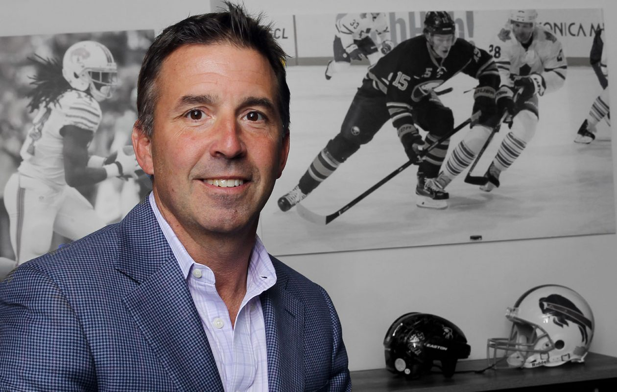 Russ Brandon, former president of the Bills and Sabres. (James P. McCoy/Buffalo News)