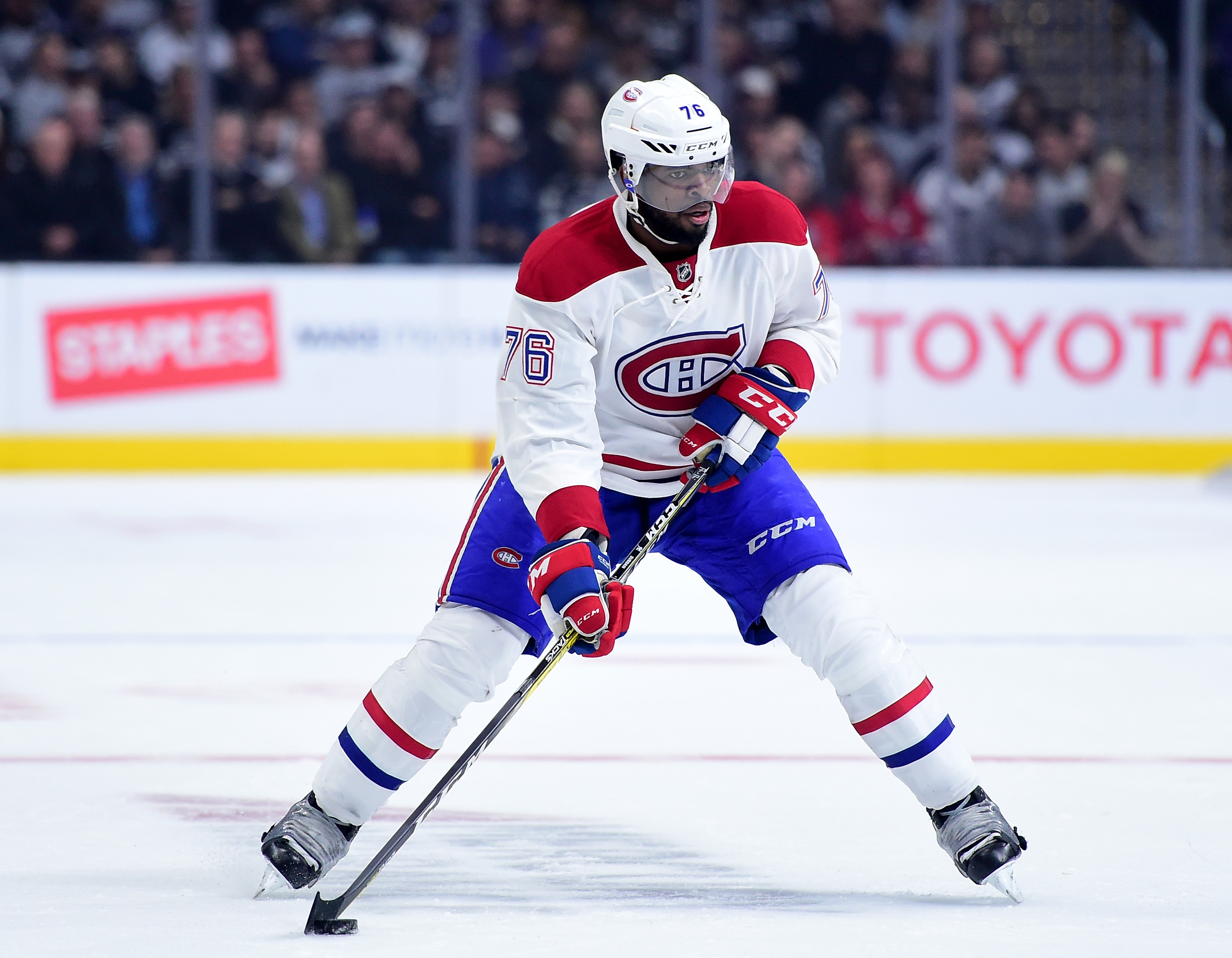 P.K. Subban was too flamboyant for the staid Canadiens (Getty Images).