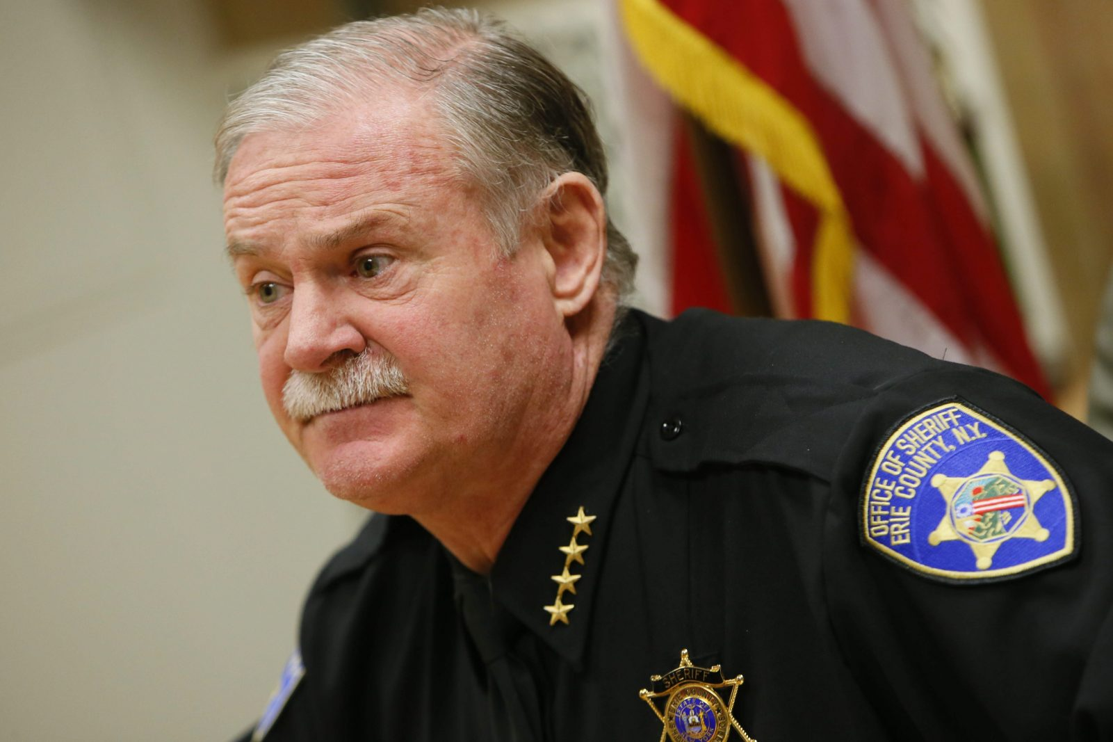 Erie County Sheriff Tim Howard pictured in 2013. (News file photo)