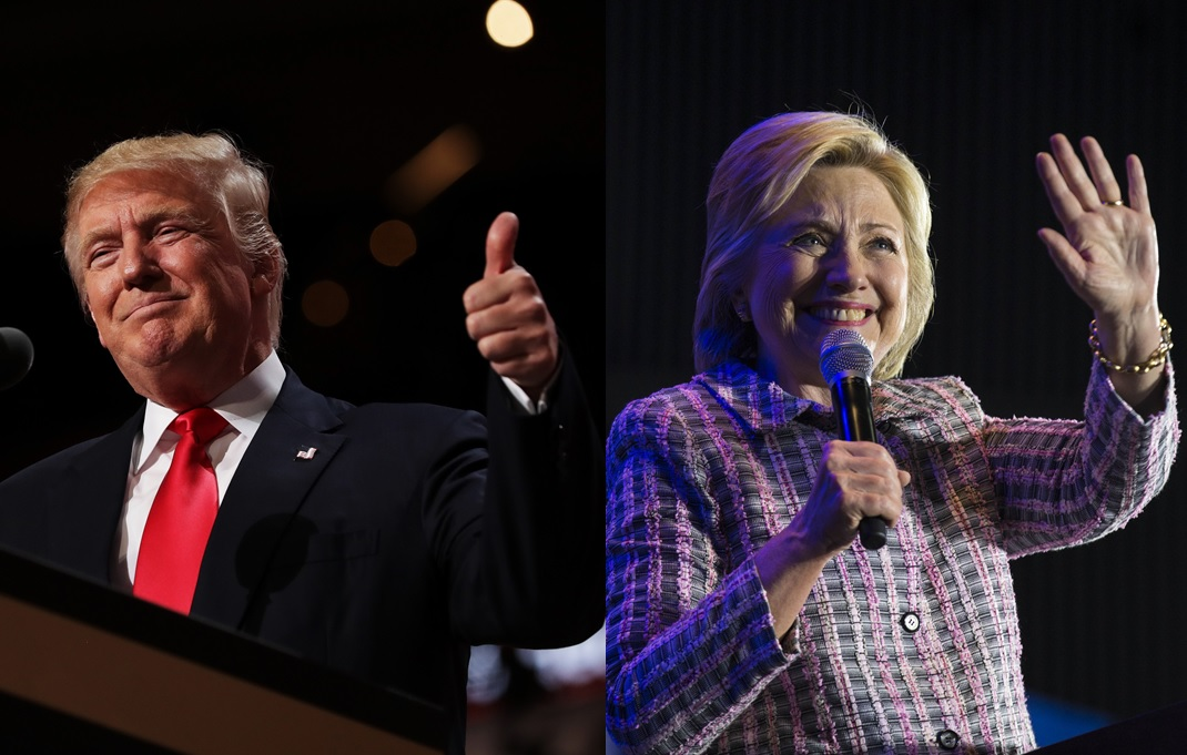 The presidential contest between Republican Donald J. Trump and Democrat Hillary Rodham Clinton will finally be decided Tuesday. (Getty Images/New York Times)