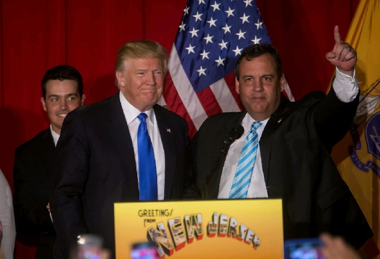 Former New Jersey Gov. Chris Christie wasn't happy about not being picked as Trump's running-mate, according to the Washington Post, but is expected to speak at the convention in Cleveland Tuesday.