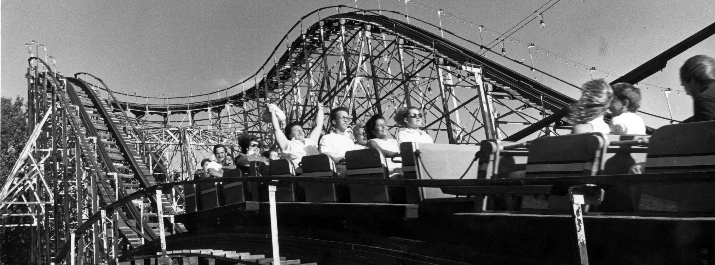 The Crystal Beach Comet.  (News file photo)