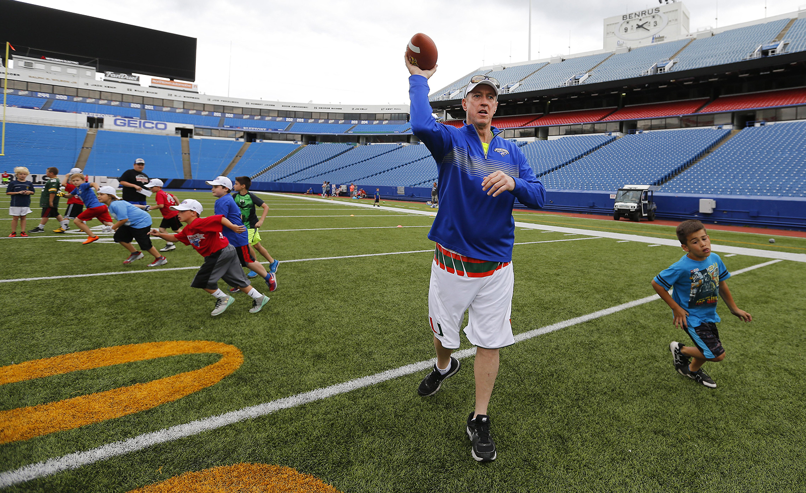 Hall of Famer Jim Kelly announced on Thursday that his cancer has returned. (Buffalo News file photo)