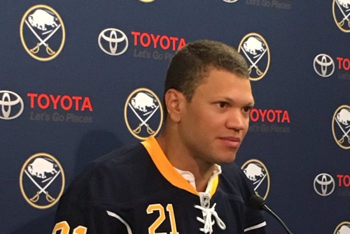 Sabres' Okposo: 'We're going to be contenders'