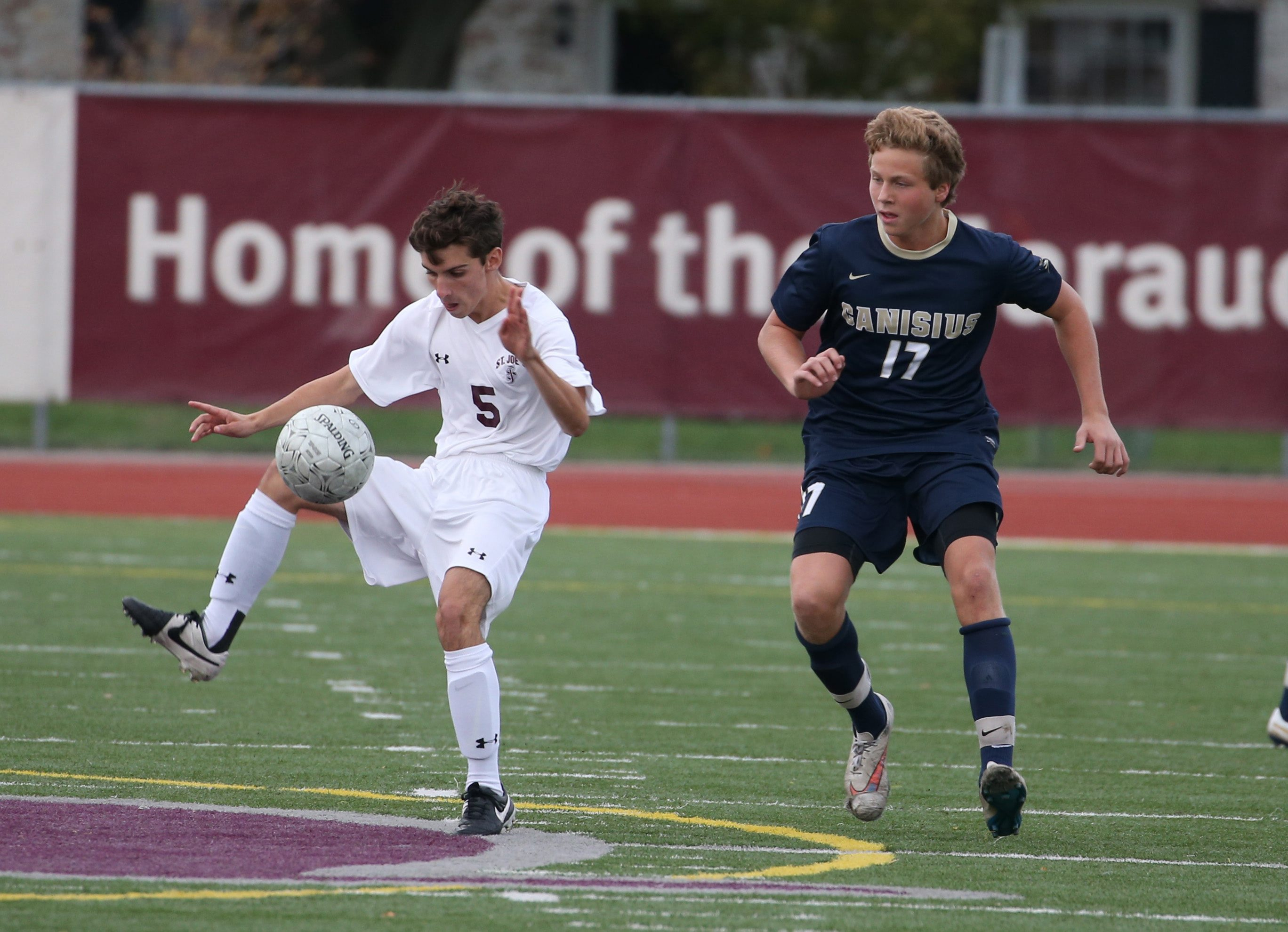 Benjamin Galkiewicz returns for St. Joe's, while Maxwell Montante is back for Canisius. (Sharon Cantillon/Buffalo News)
