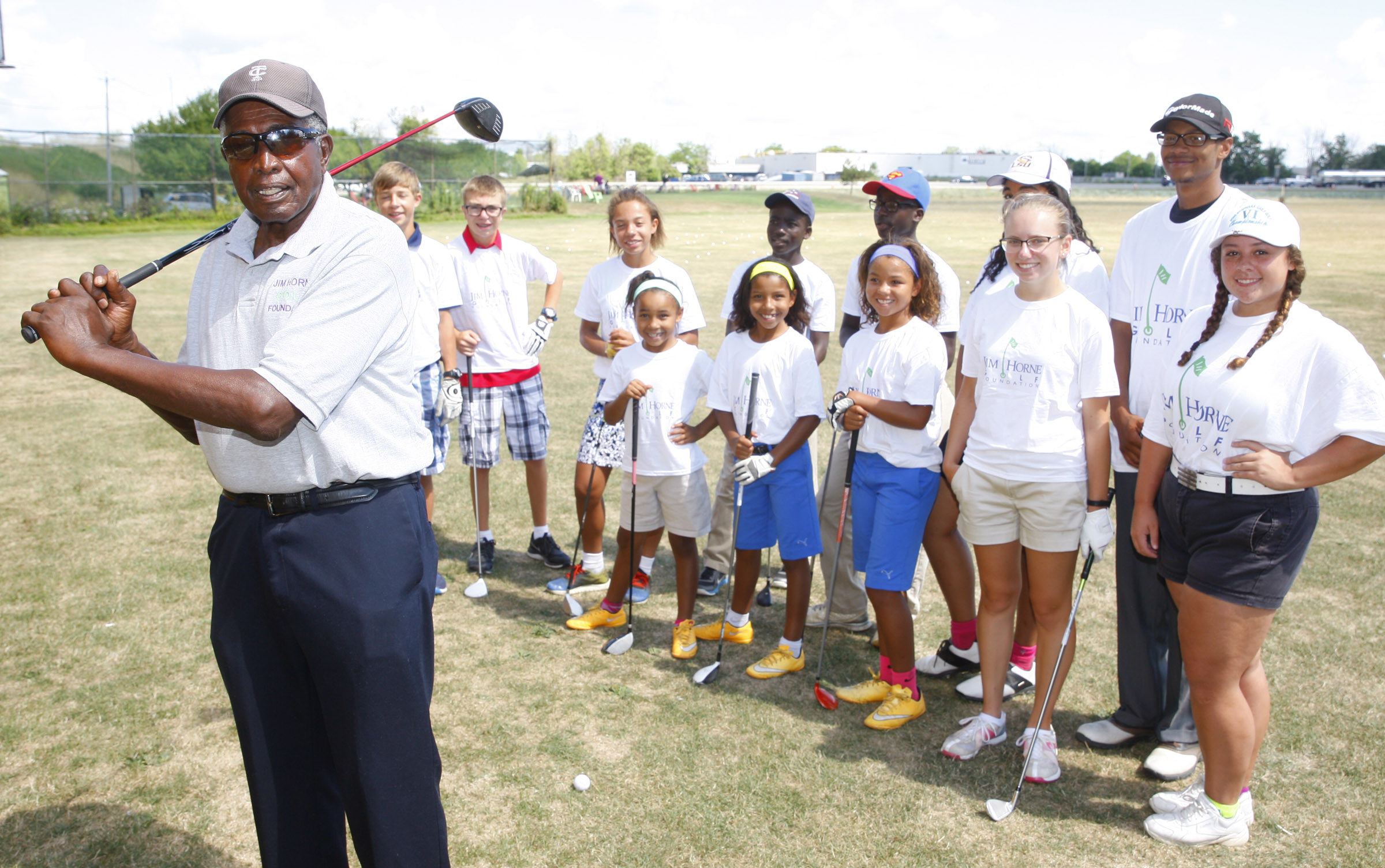 Jim Horne first made his mark on the basketball court. But his true calling became using golf to nurture the development of  inner-city youths. (Harry Scull Jr./Buffalo News)