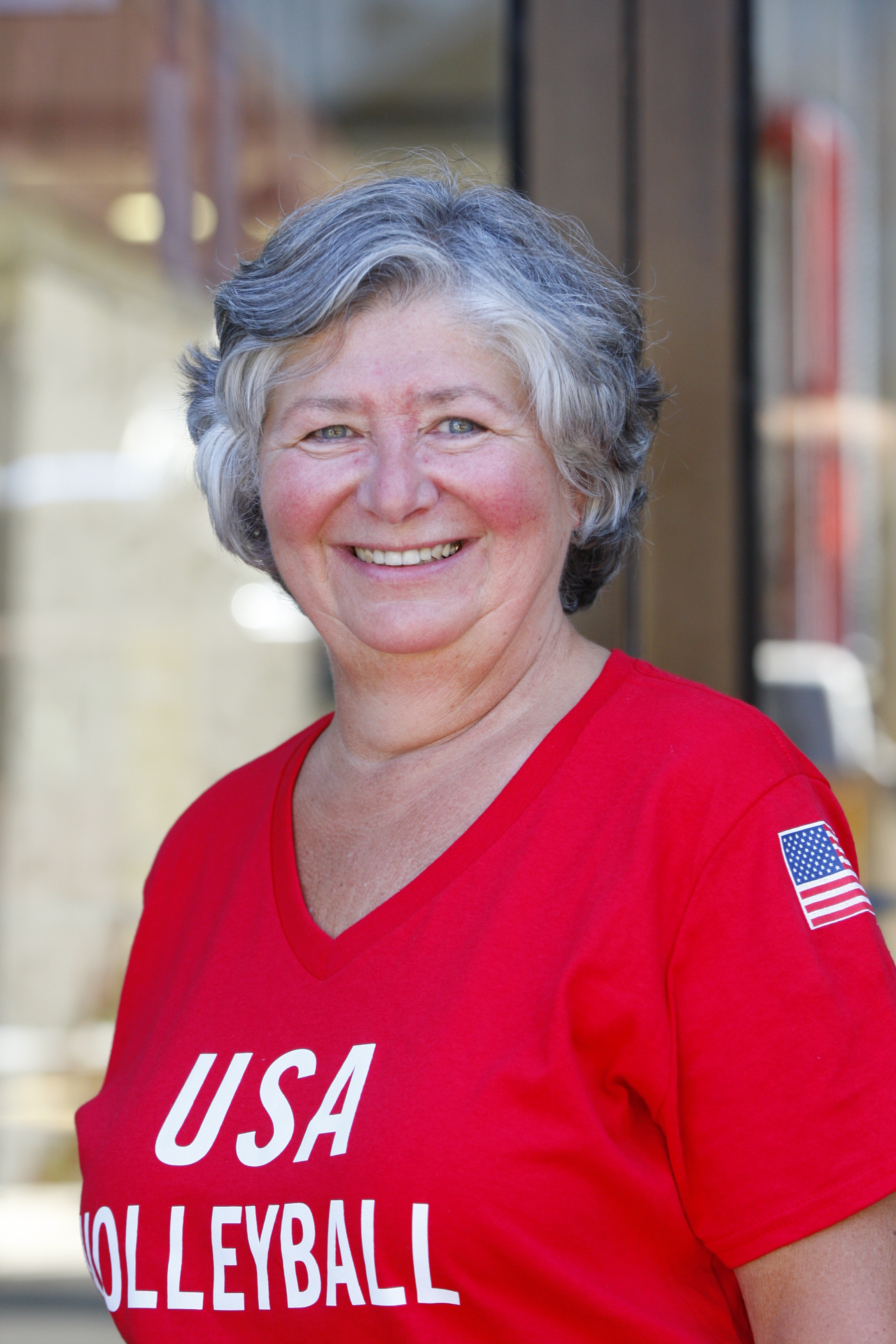Nancy Anderson, mother of Olympic volleyball player Matt. (Harry Scull Jr./Buffalo News)