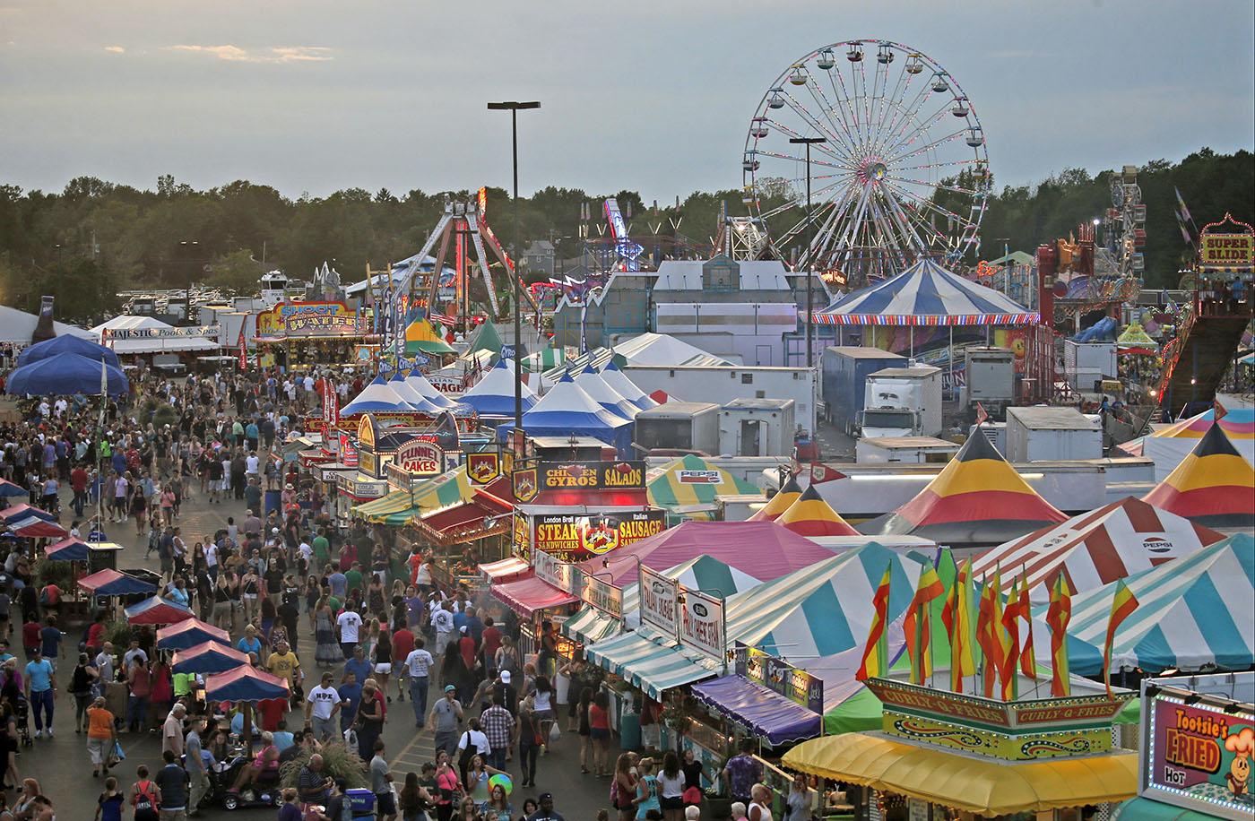 The 178th Erie County Fair opens Aug. 9. (Robert Kirkham/Buffalo News file photo)
