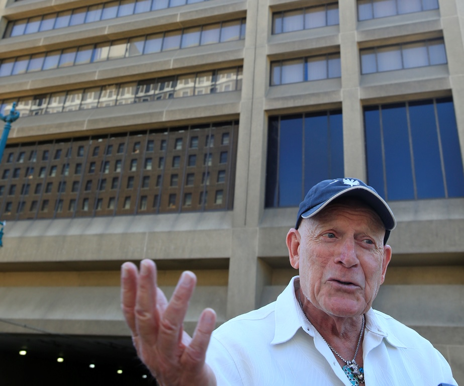 """Douglas Jemal, purchaser of One Seneca Tower, called the building """"magnificent"""" after a recent tour. (Harry Scull Jr./Buffalo News)"""