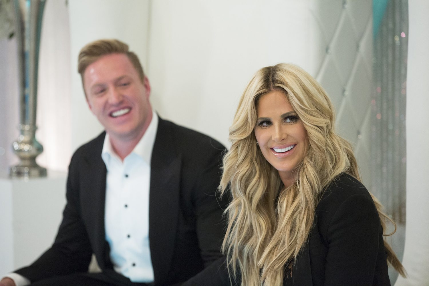 It's a good thing Kroy Biermann didn't stick with the Bills; his 'Real Housewife' spouse, Kim Zolciak-Biermann, did not want to live here. (Photo by Mark Hill/Bravo)