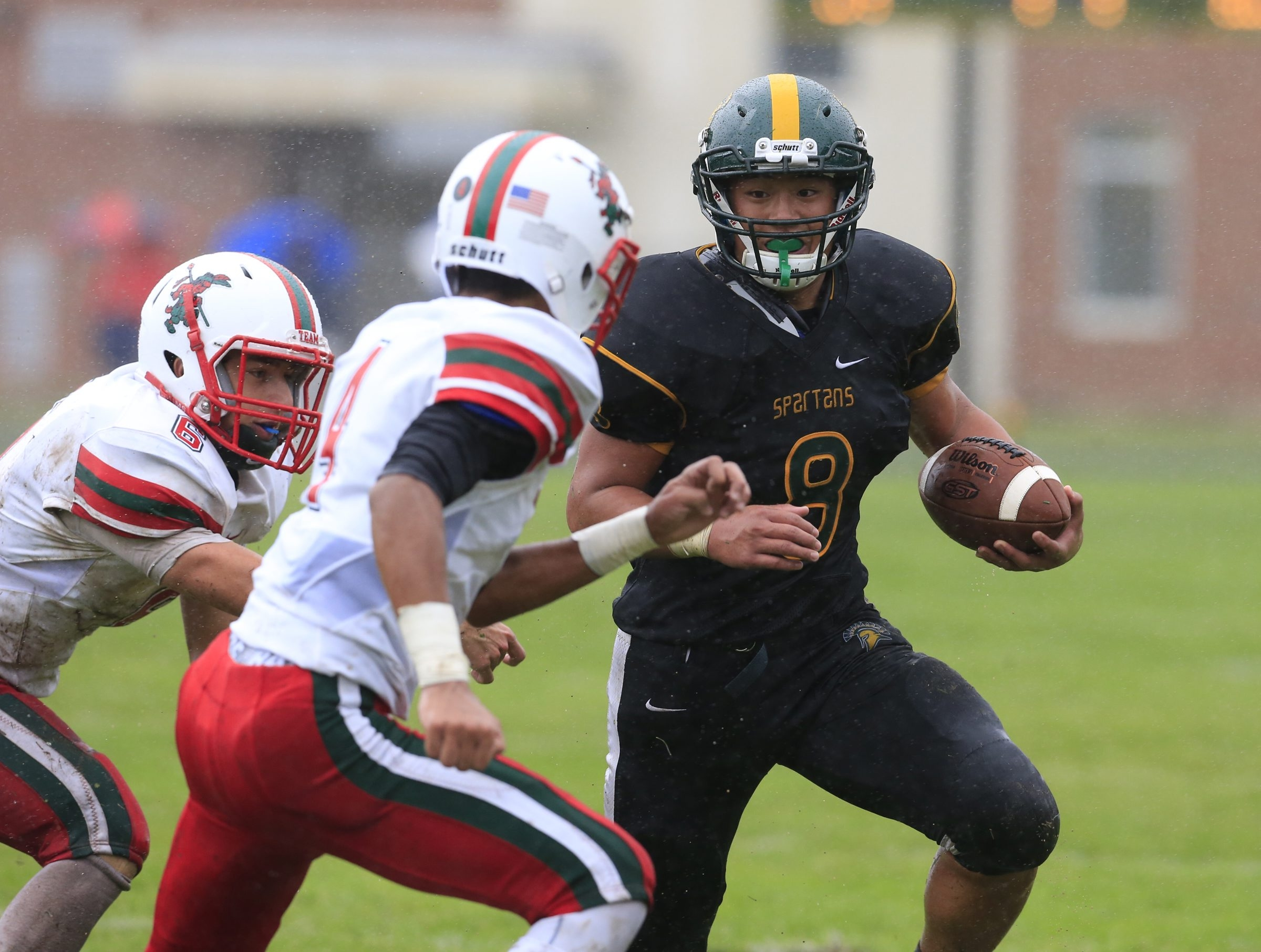Andrew Hwang and Williamsville North make the move from Class A North to Class AA North  (Harry Scull Jr./Buffalo News)