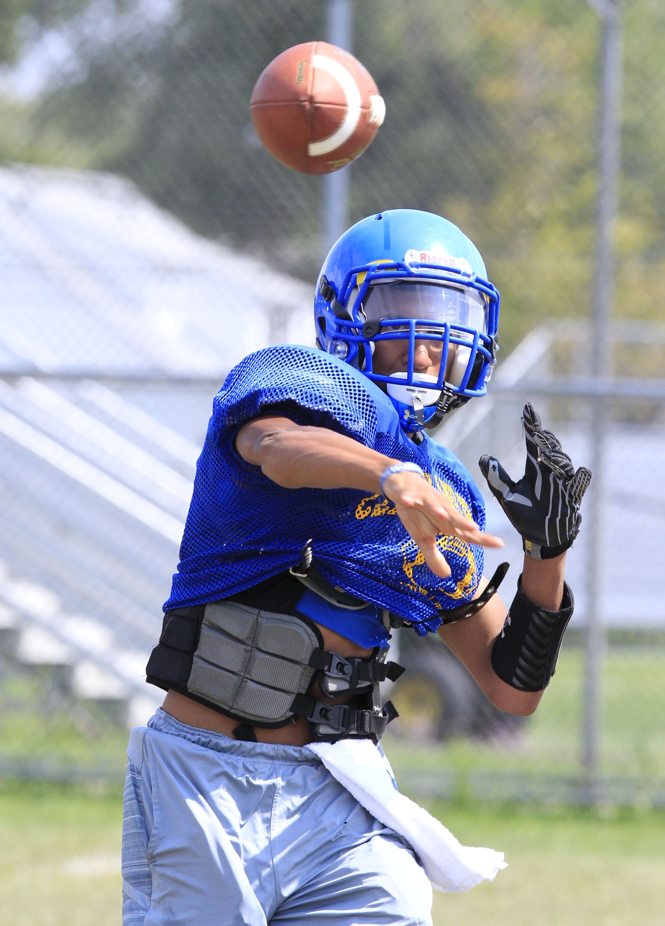 If Cleveland Hill is to have a good season this year, quarterback Tyler Phillips probably will be a big reason why.