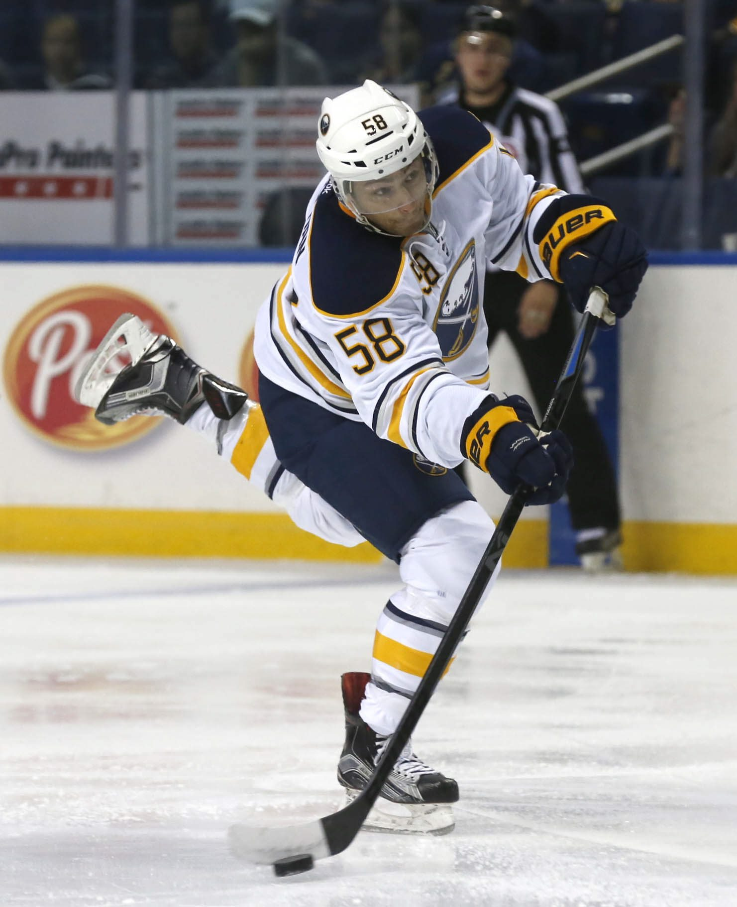 Sabres prospect Giorgio Estephan could prove a steal of a sixth-round draft pick.  (Robert Kirkham/Buffalo News)