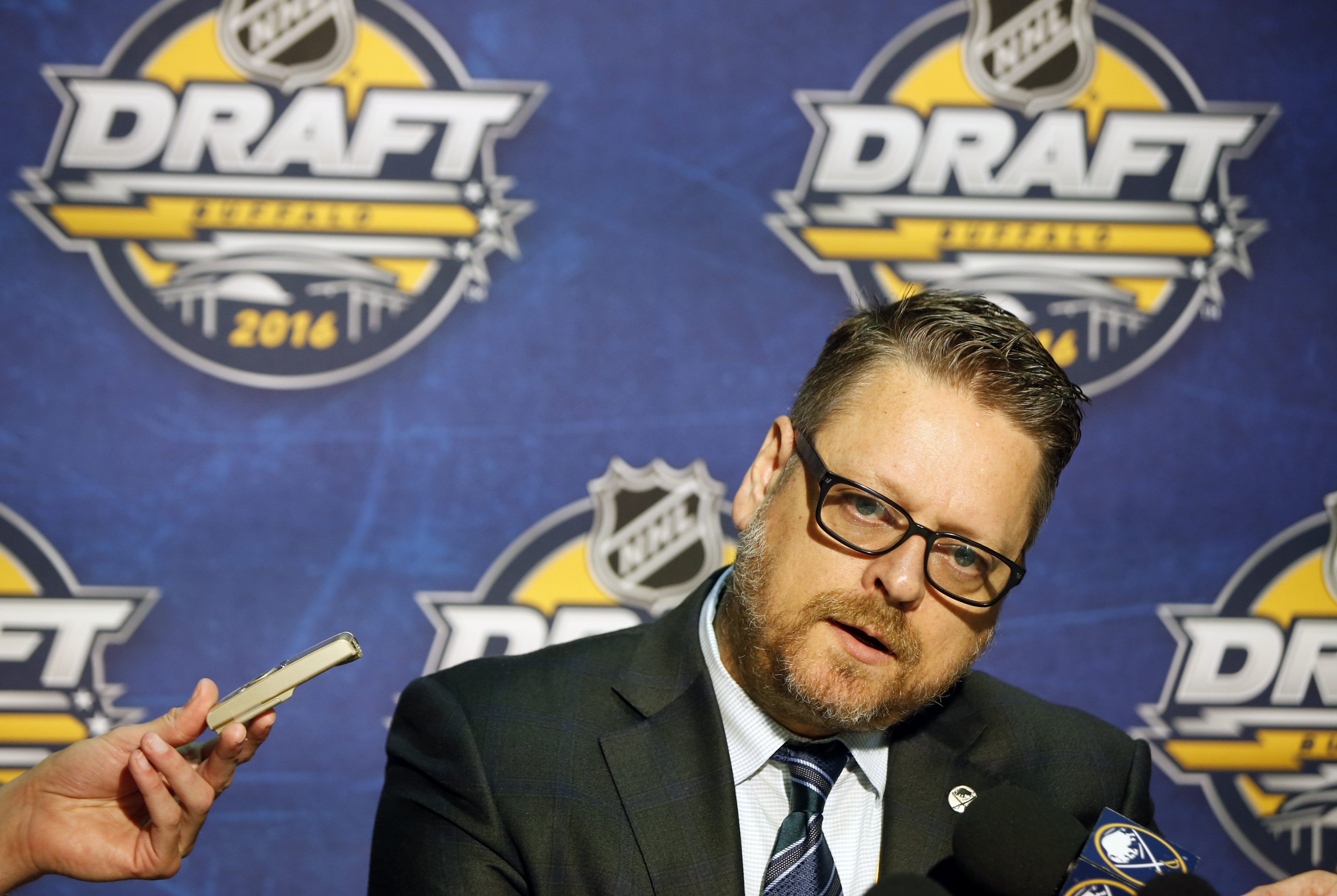 Sabres General Manager Tim Murray paid a hefty price to acquire Evander Kane from Winnipeg. (Harry Scull Jr./Buffalo News)