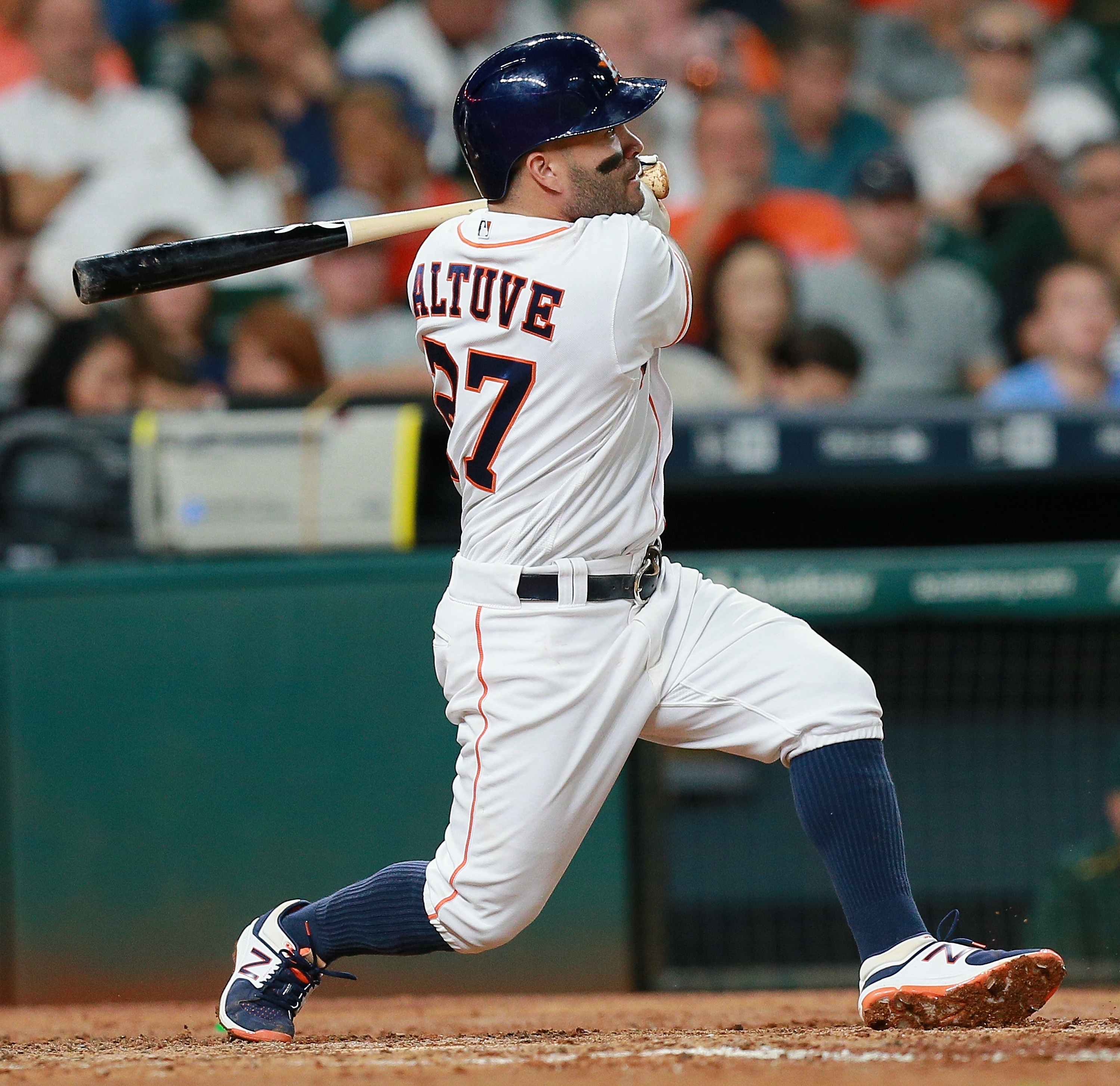 It's possible Jose Altuve will enter extremely rare company and not be the American League MVP.