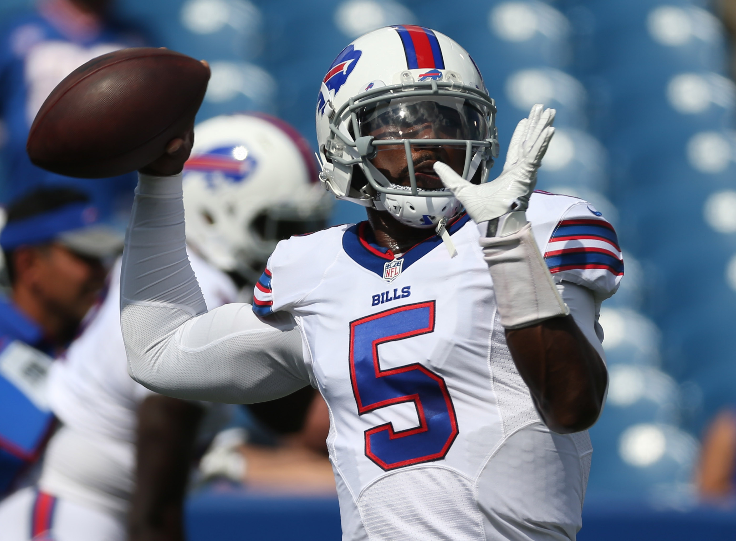 If Tyrod Taylor continues to progress, that's a good thing for the Bills.