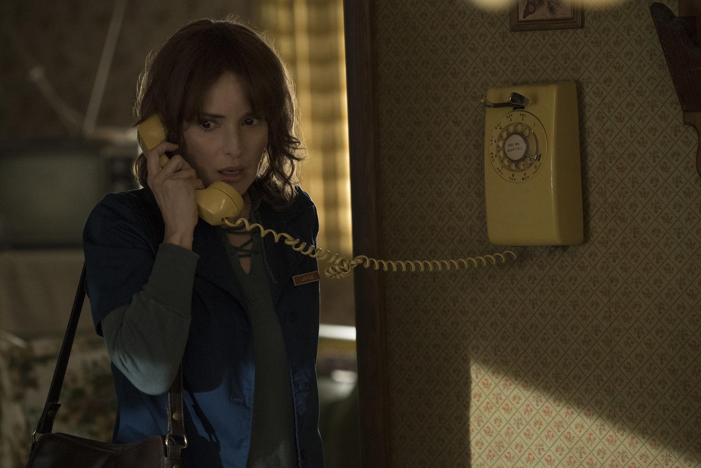 "Winona Ryder in ""Stranger Things."""