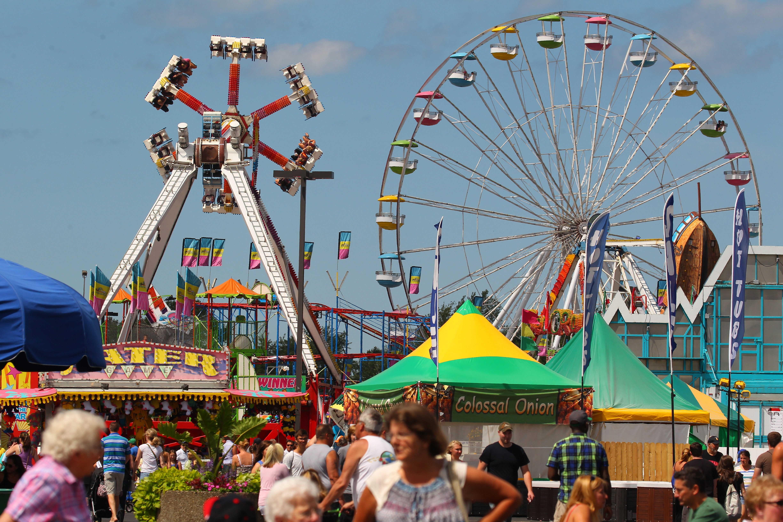People enjoy the Erie County Fair in Hamburg last year. This year's fair starts Wednesday and runs through Aug. 21.