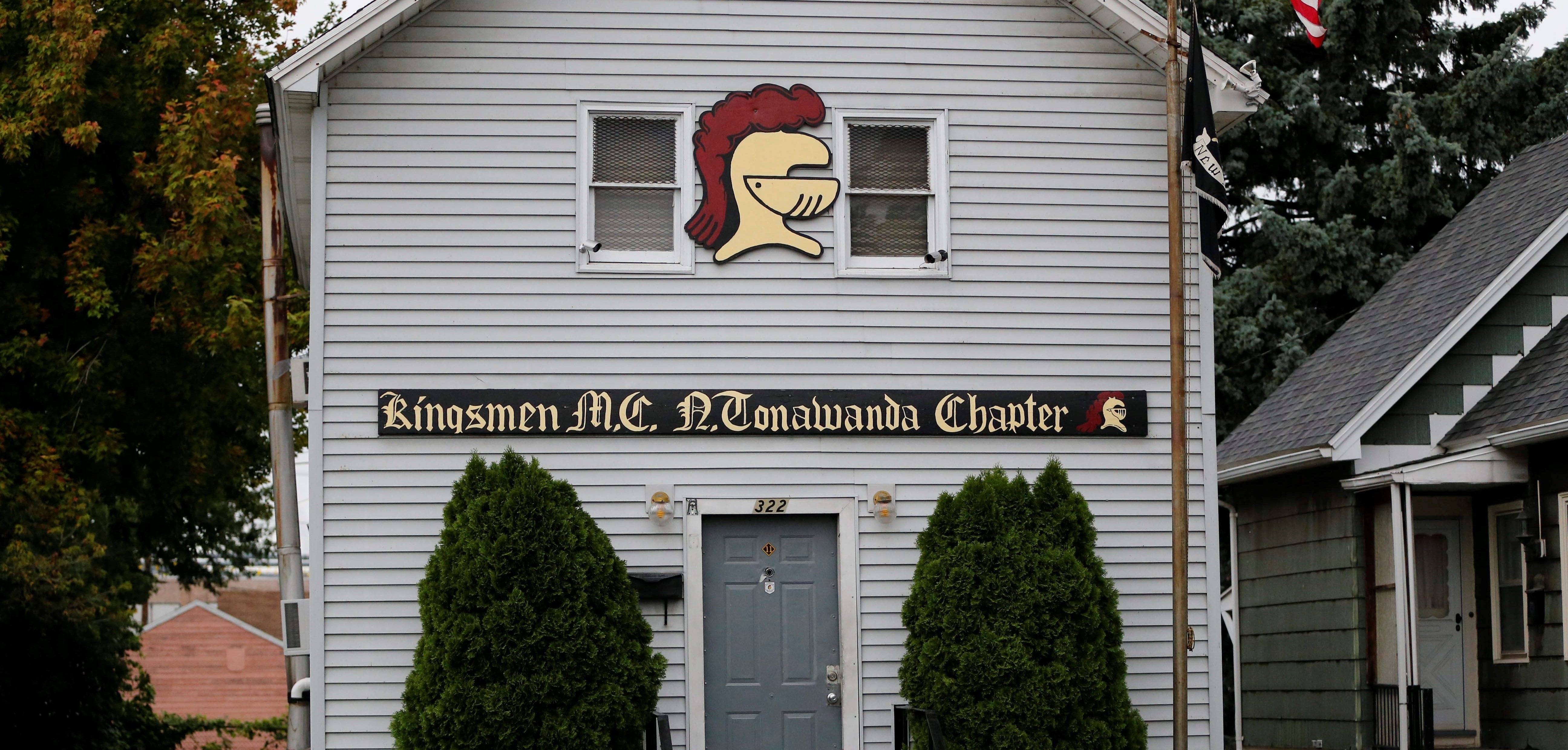 """At the crux of the Kingsmen case are the murders of Daniel """"DJ"""" Szymanski and Paul Maue by fellow gang member Andre """"Little Bear"""" Jenkins in September 2014 at the North Tonawanda chapter of the motorcycle club. (Derek Gee/News file photo)"""