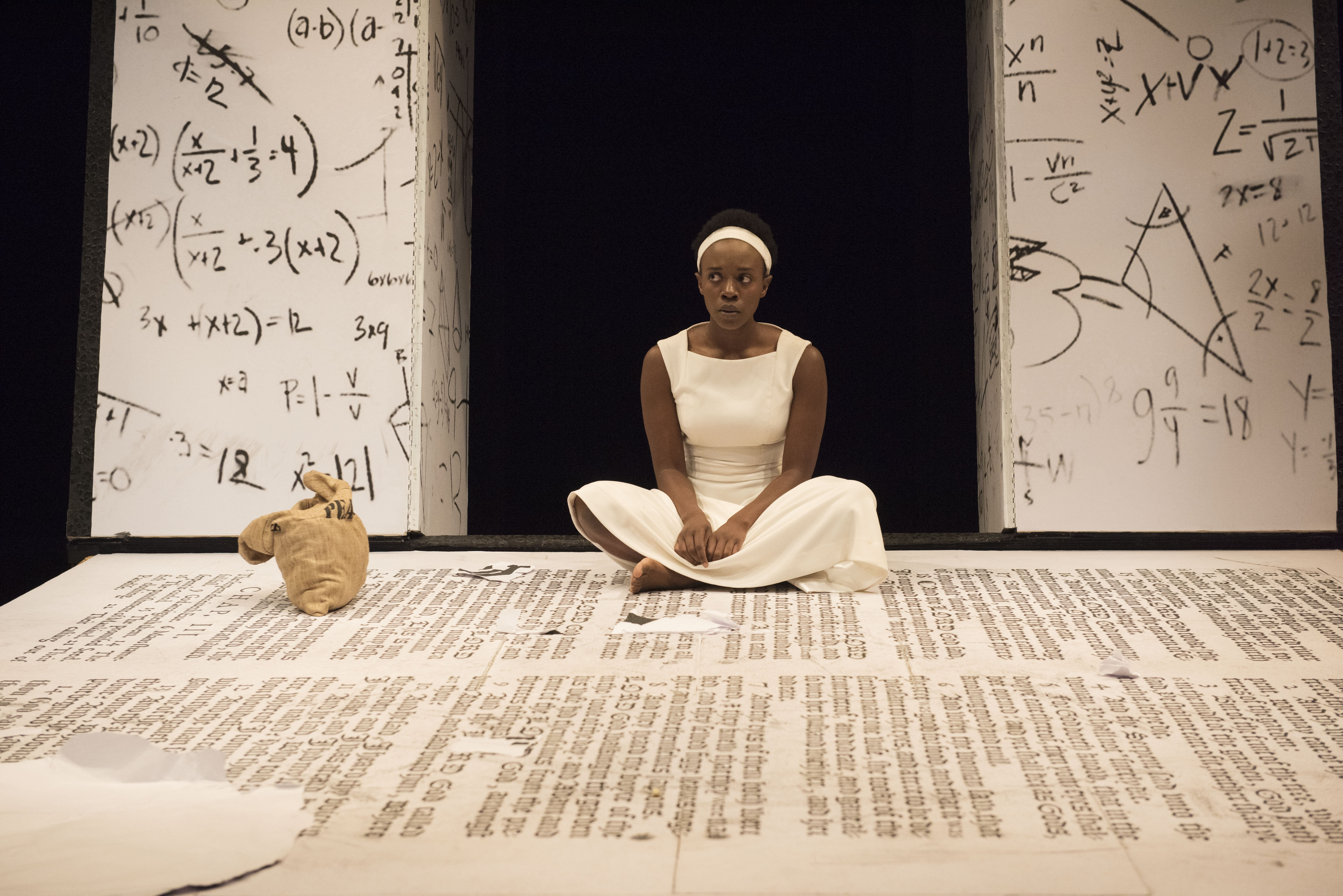 """Natasha Mumba stars as Black Girl in """"The Adventures of the Black Girl in Her Search for God"""" now at the Shaw Festival. (Photo by David Cooper.)"""