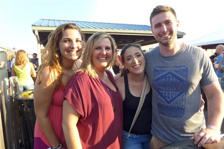 Smiles at Goo Goo Dolls Show at Darien Lake