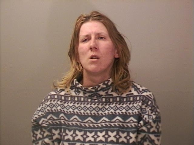 Nina L. Allen, 34, of the Town of Niagara is charged with stealing the bicycle of a 6-year-old fighting cancer. (Niagara Falls police)
