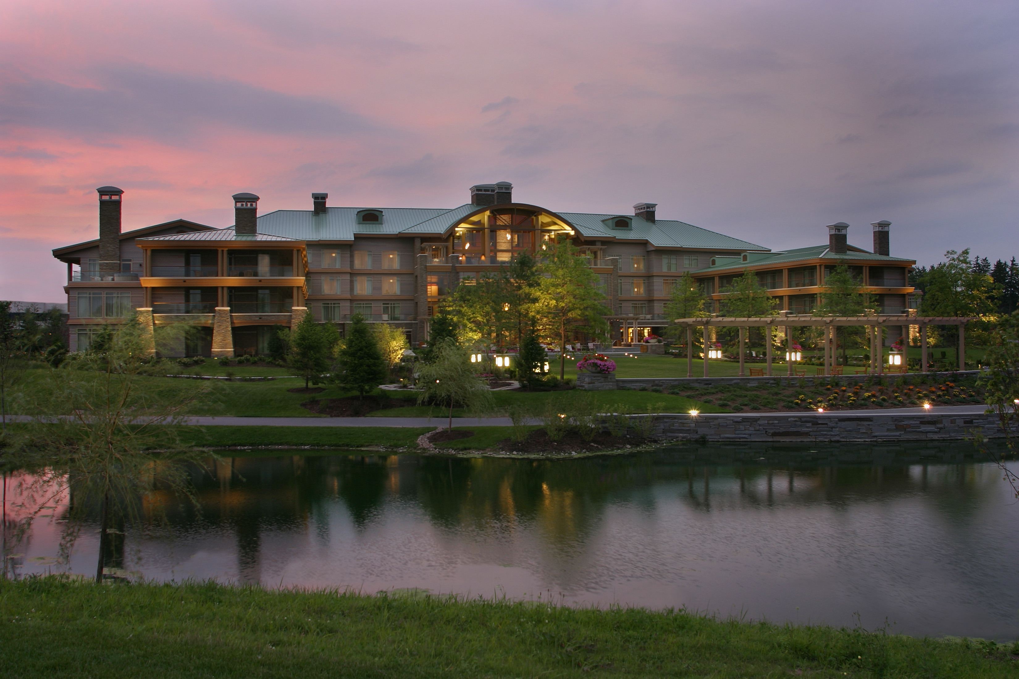 The Lodge at Turning Stone offers quality and consistent service.