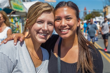 Smiles at the Elmwood Avenue Festival of the Arts