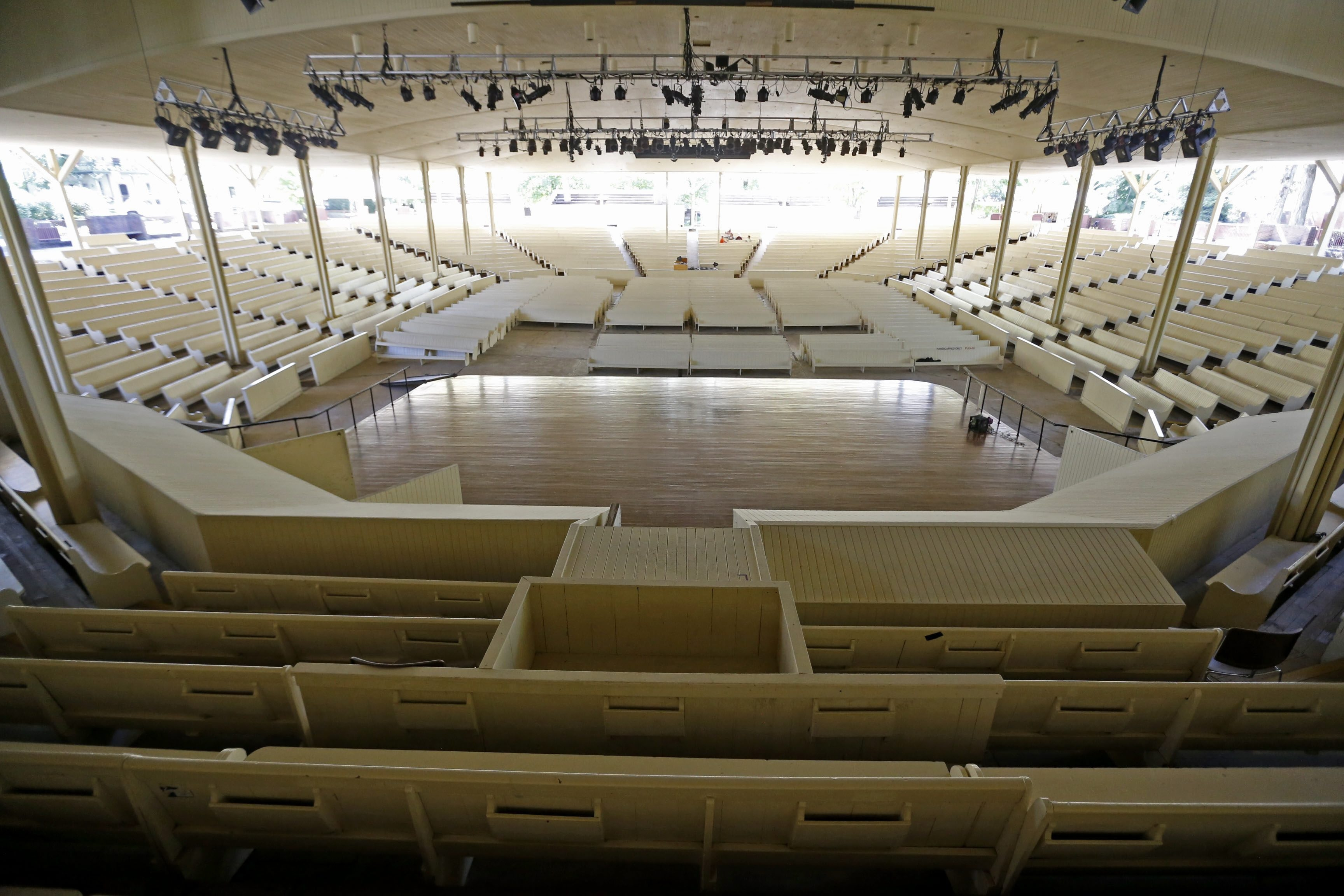 """The iconic Amphitheater is being replaced by a new century """"renewal."""""""