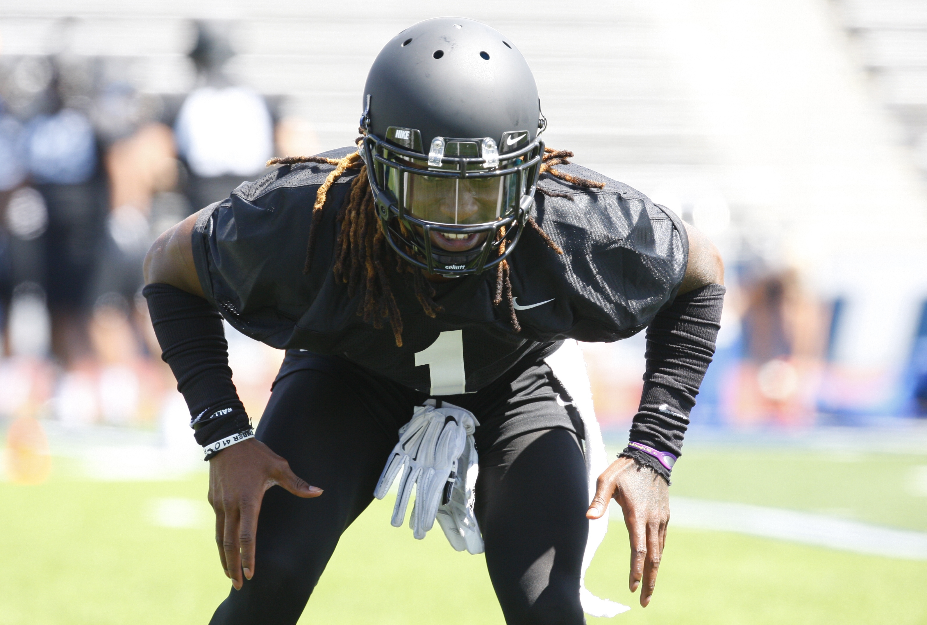 Cornerback Boise Ross may knit like your grandma, but he is a top defense and the No. 1 NFL prospect on the UB football team.