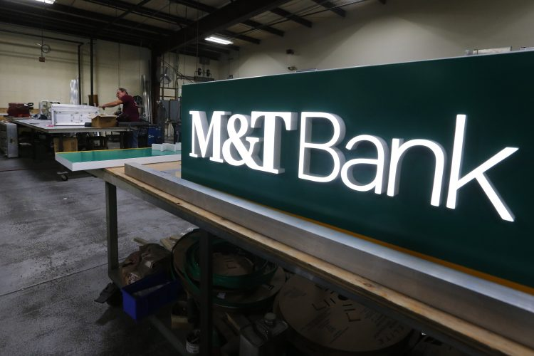 M&T Bank logos through the years