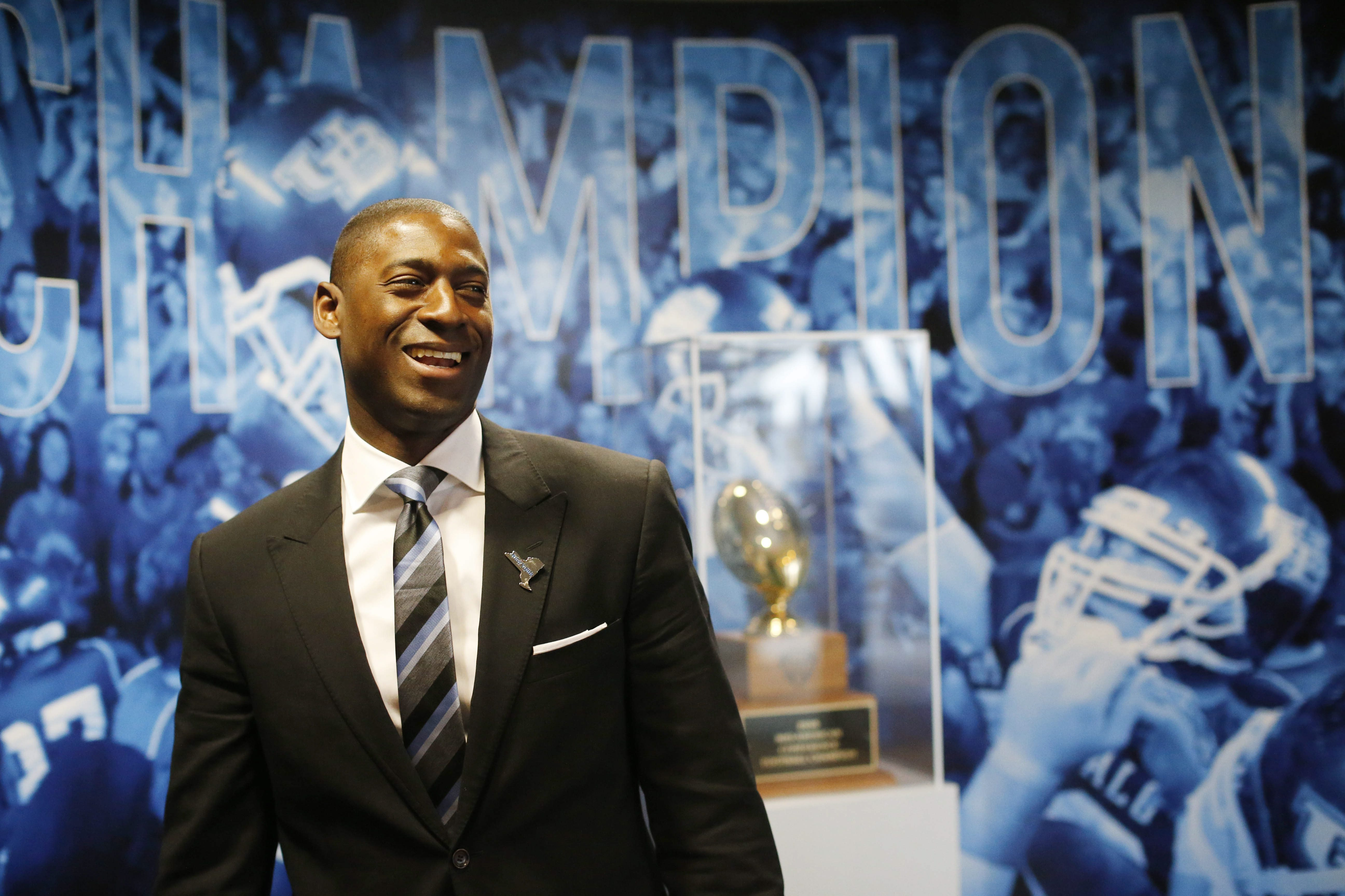 """I have had colleagues from across the country who reached out to me Saturday night and even yesterday saying how cool of an atmosphere it was,"" said UB athletic director Allen Greene of Saturday's game. (Derek Gee/News file photo)"