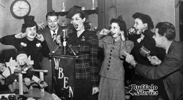 Early Date at Hengerer's, WBEN. Buffalo Stories archives