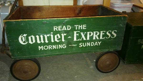 It all started with a wagon that looked a lot like this. (Photo by John Boutet)