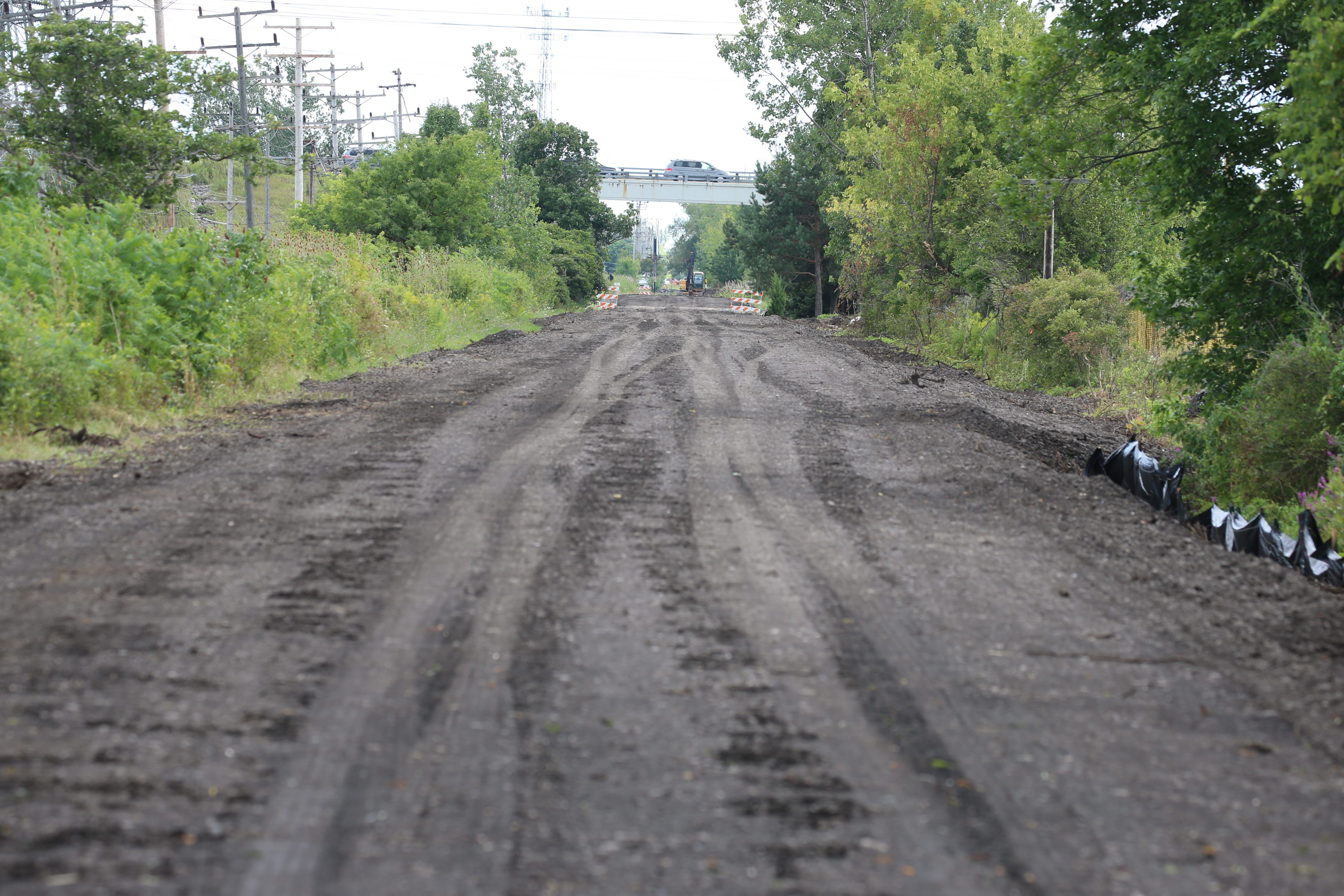 After 15 years of planning, construction on the Rails to Trails got underway in 2015.