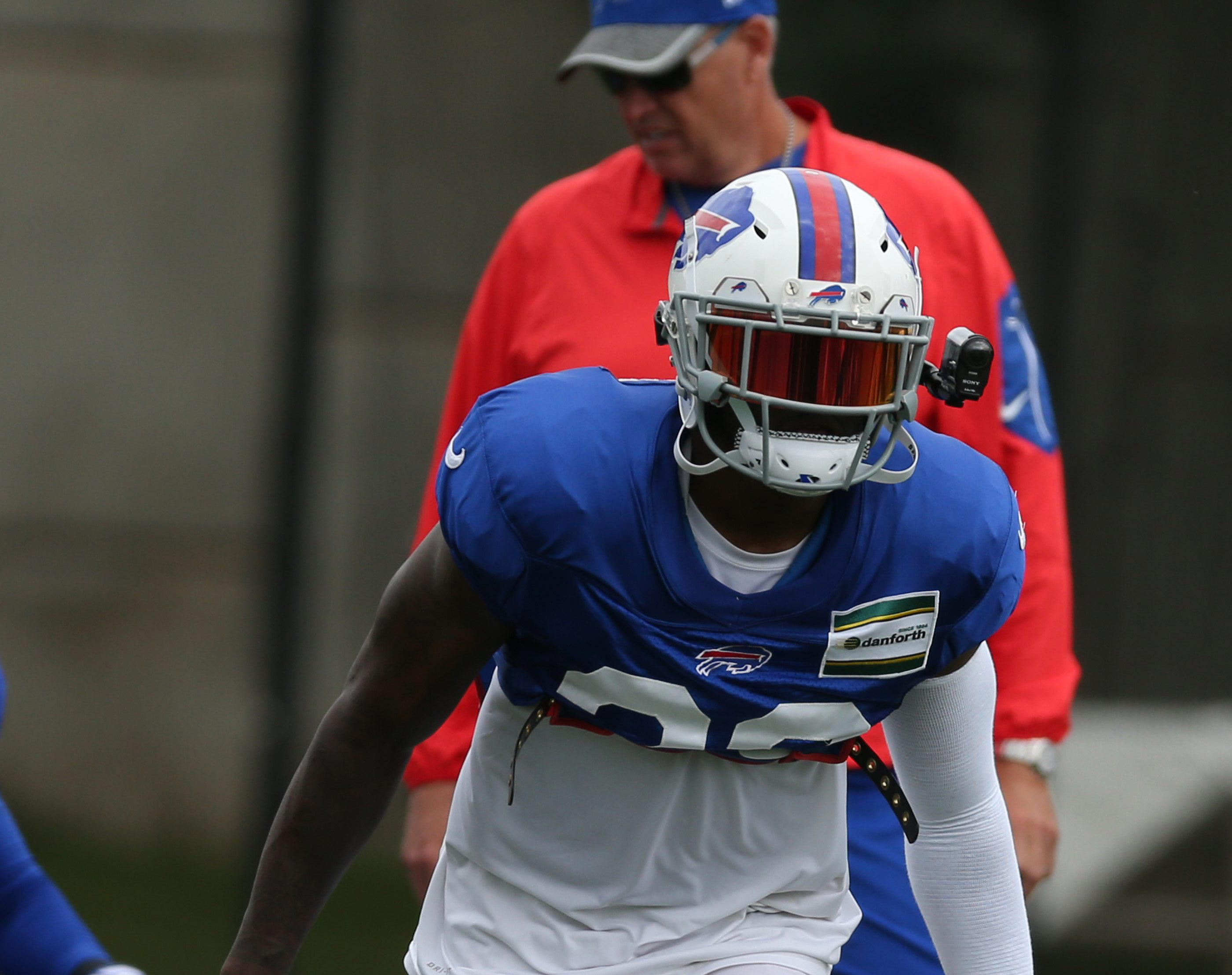 Bills safety Aaron Williams said he'll take a cautious approach as he returns from a neck injury that ended his 2015 season. (James P. McCoy/ Buffalo News)