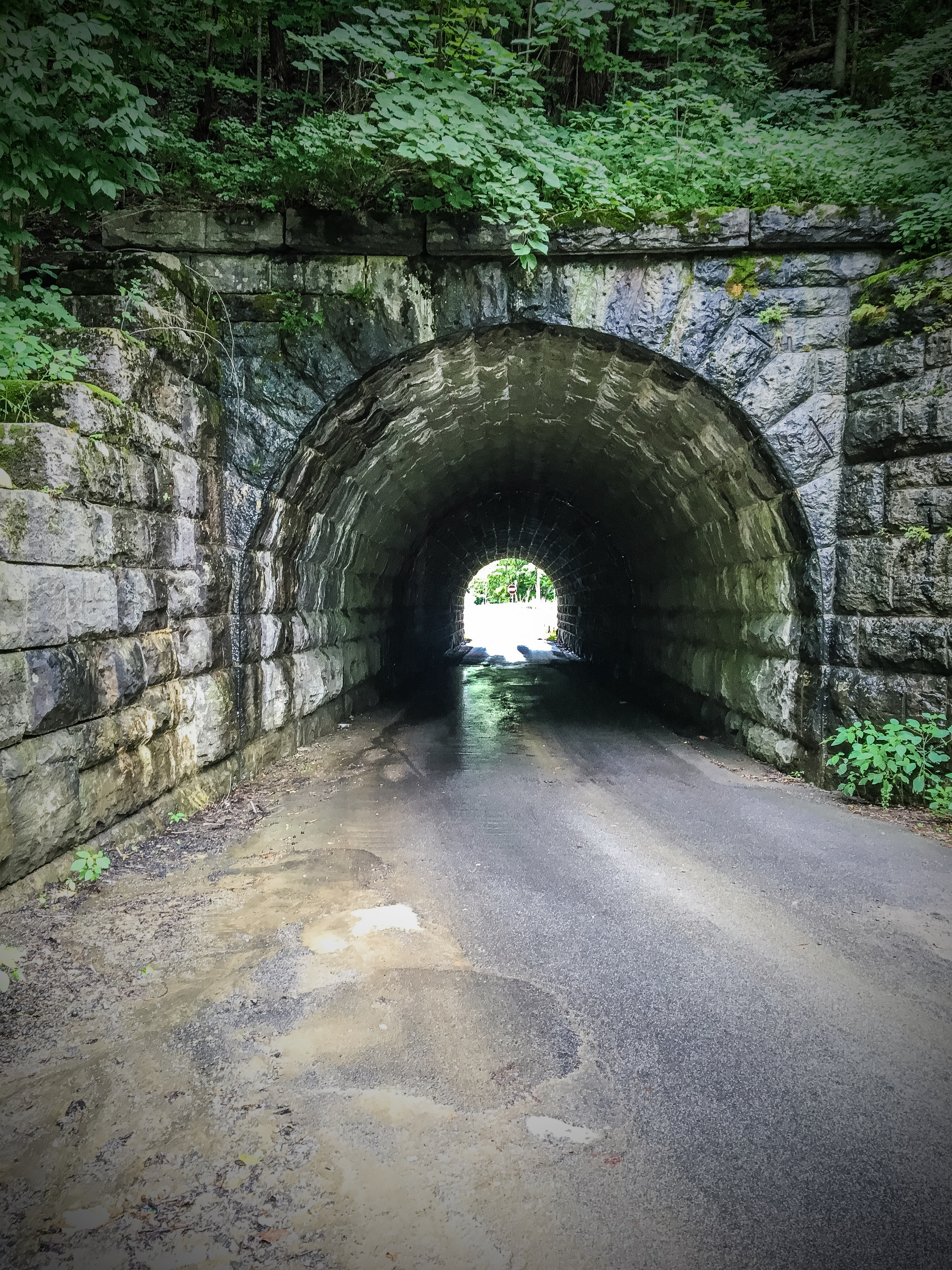 The entrance to Frosty Acres Campground outside Schenectady.