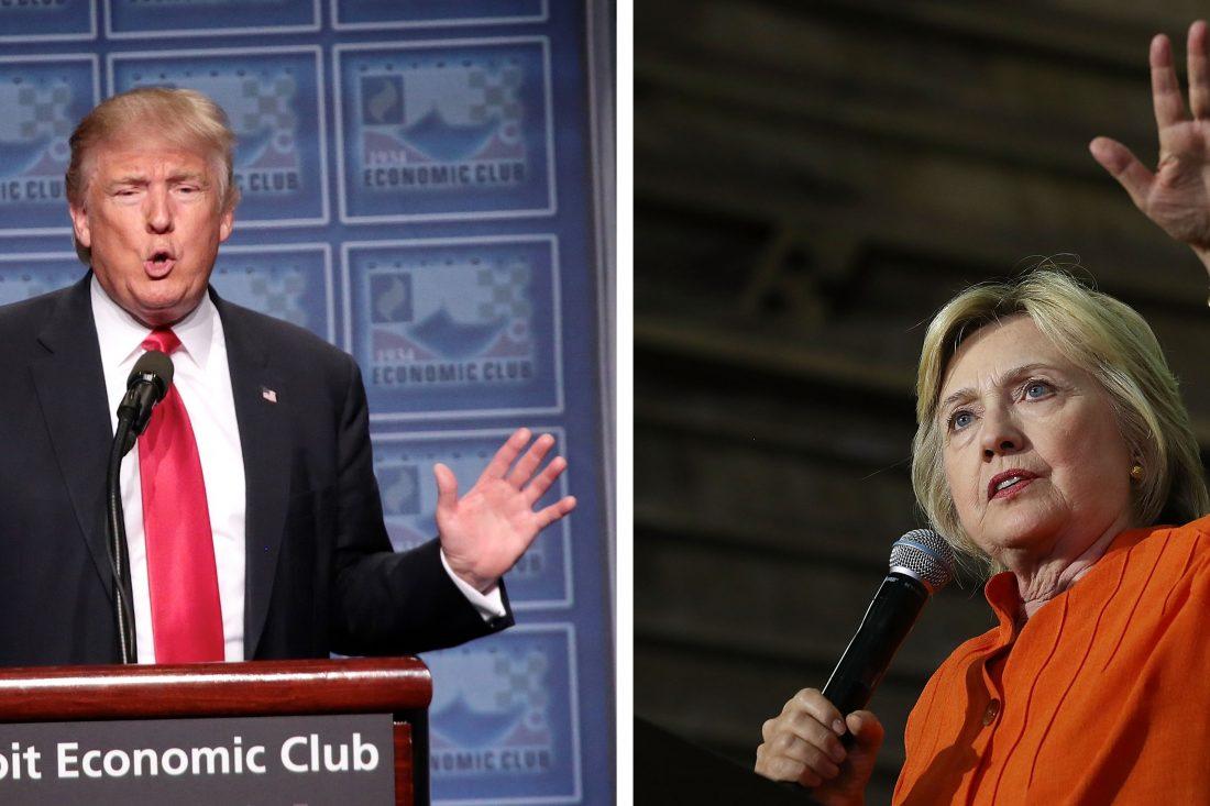politics donald trump hillary clinton economic plans